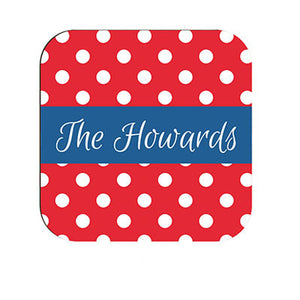 3.5 in Square Hardboard Coaster - Semi Gloss - AP Touch
