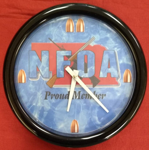 NFOA Aluminum Wall Clock - AP Touch