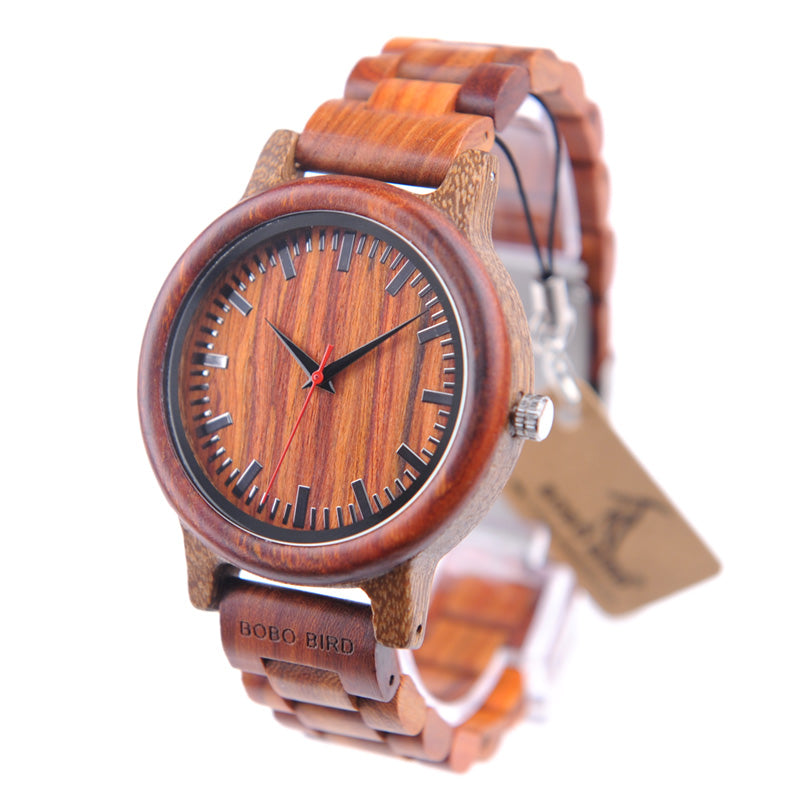 wood grain rosewood watches black products by original classic