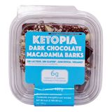 4-Pack Dark Chocolate Macadamia Barks