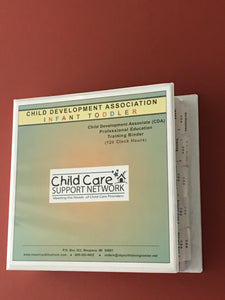 CDA 120 HR Infant Toddler Professional Education Package
