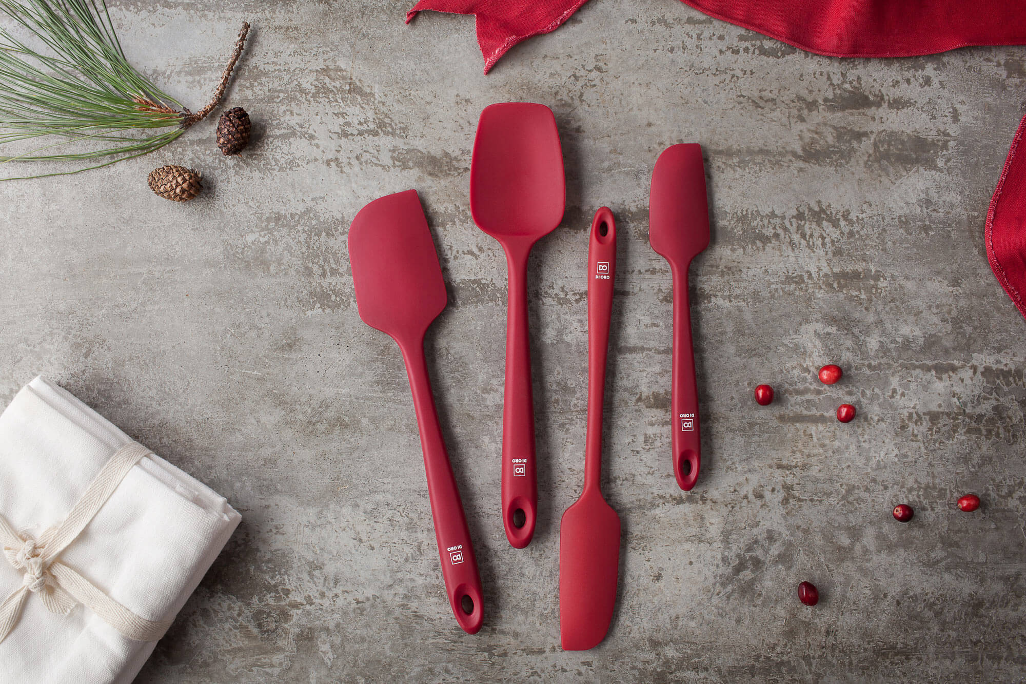 Christmas Holiday Gifts Seamless Spatulas Cooking Gear