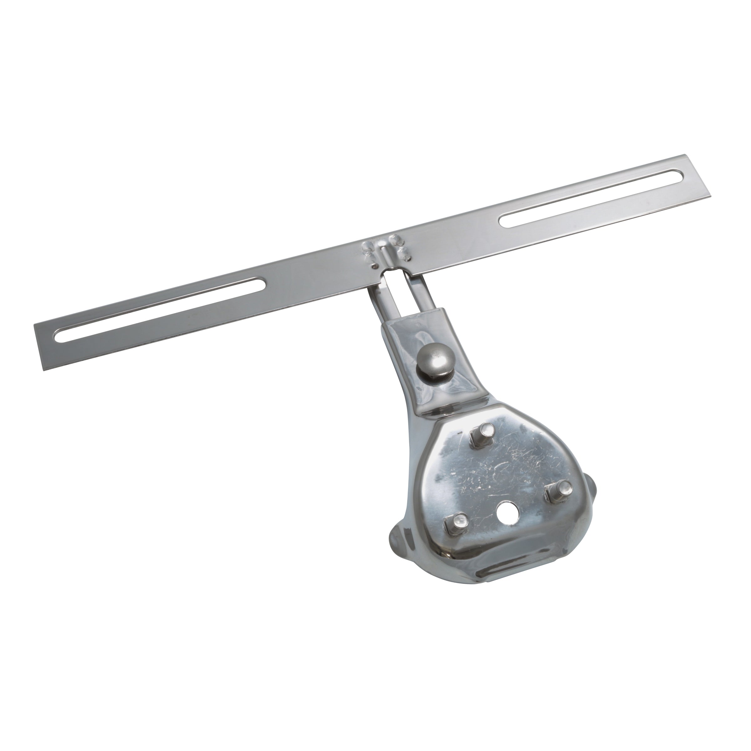 License Plate Bracket (Rear - Stainless Steel) • 1938-48 Ford Passenger
