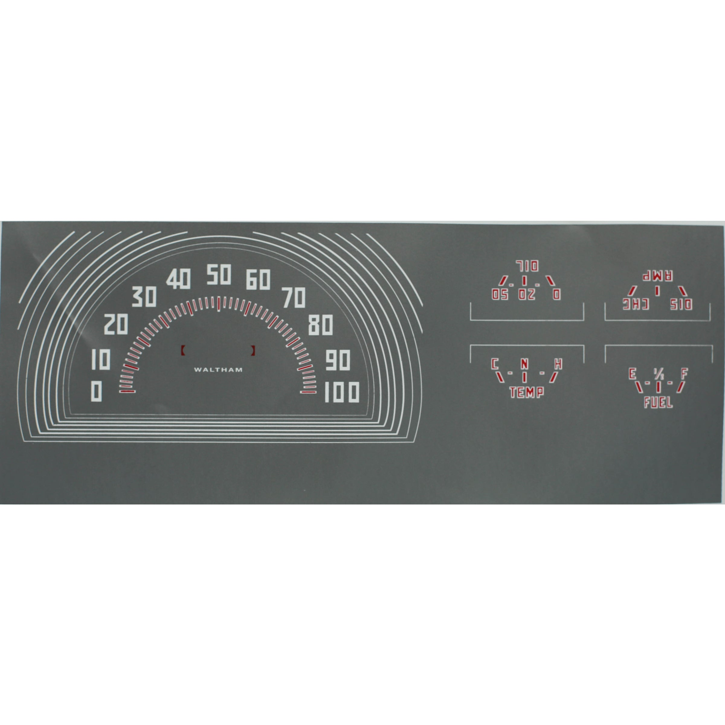 Speedometer & Gauge Decals • 1941-47 Ford Pickup