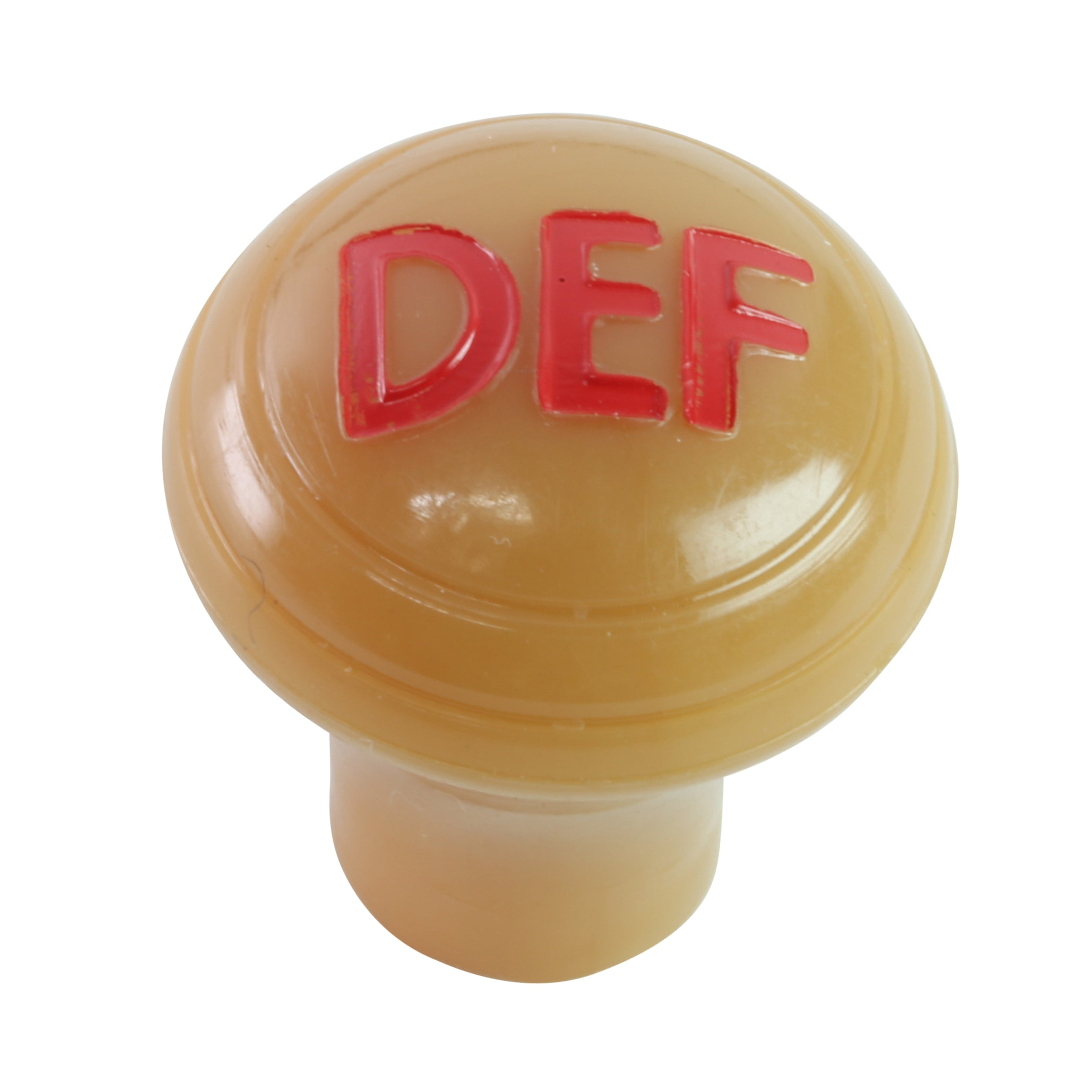 Hot Water Heater Defroster Knob (Butterscotch) • 1942 Ford