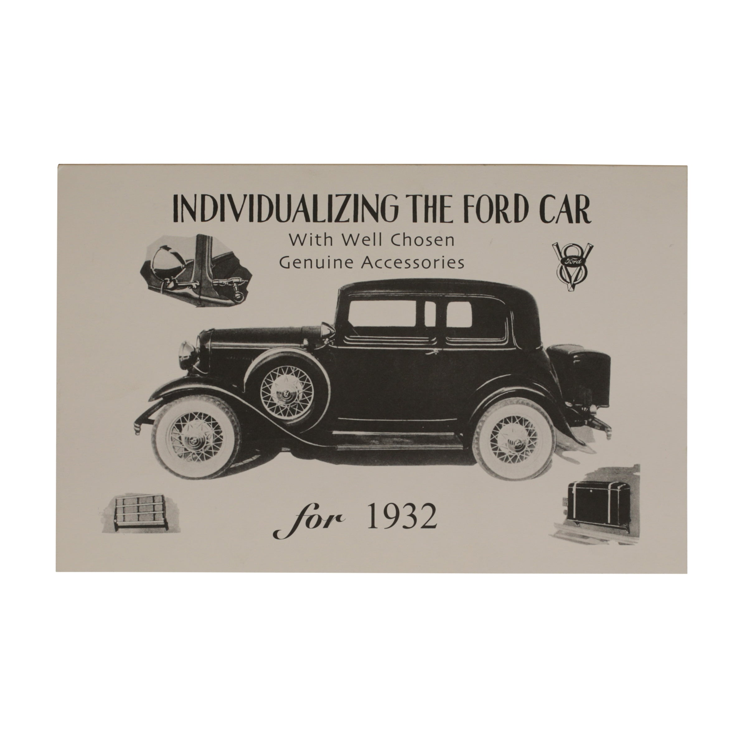 Accessories Brochure  • 1932 Ford
