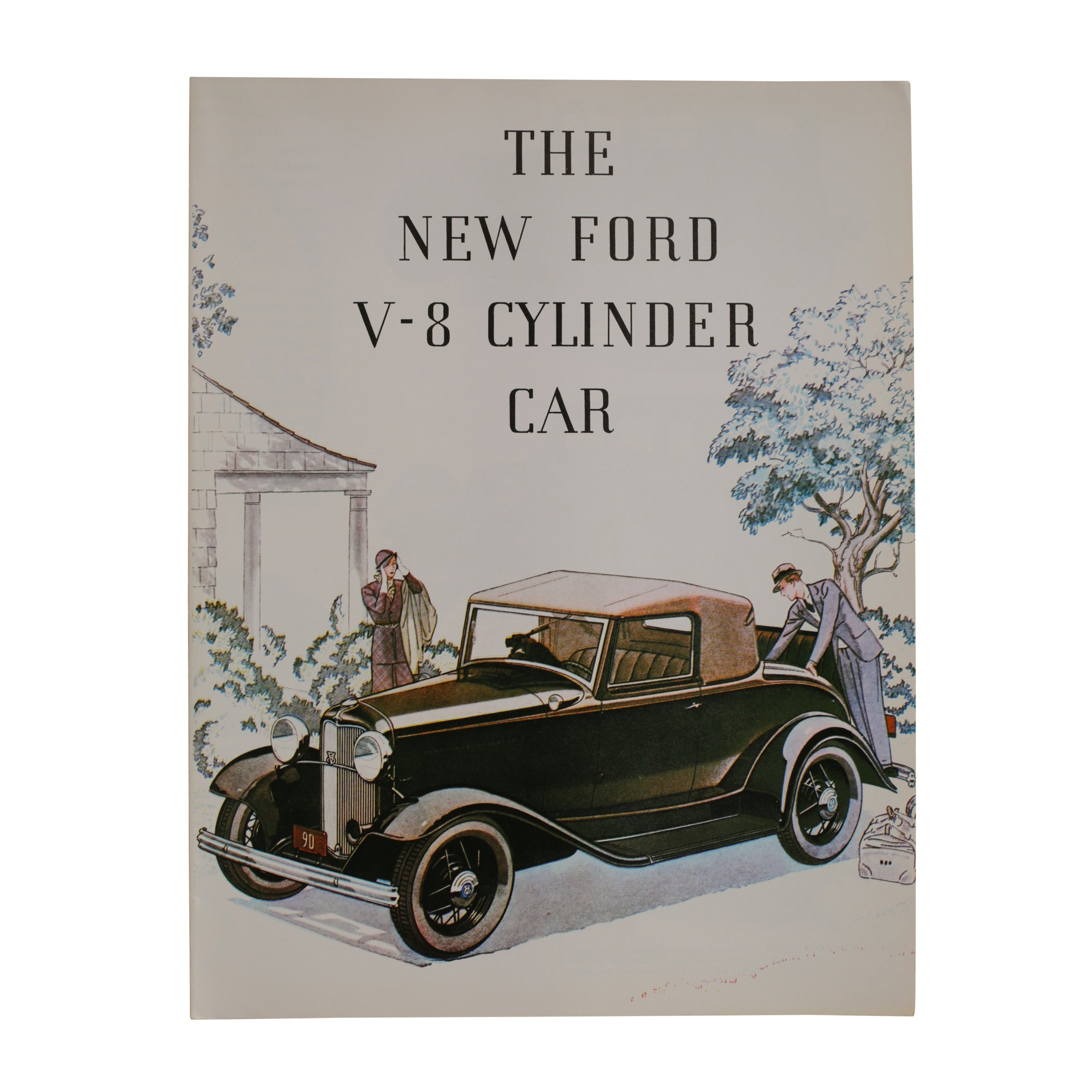Sales Brochure • 1932 Ford V-8