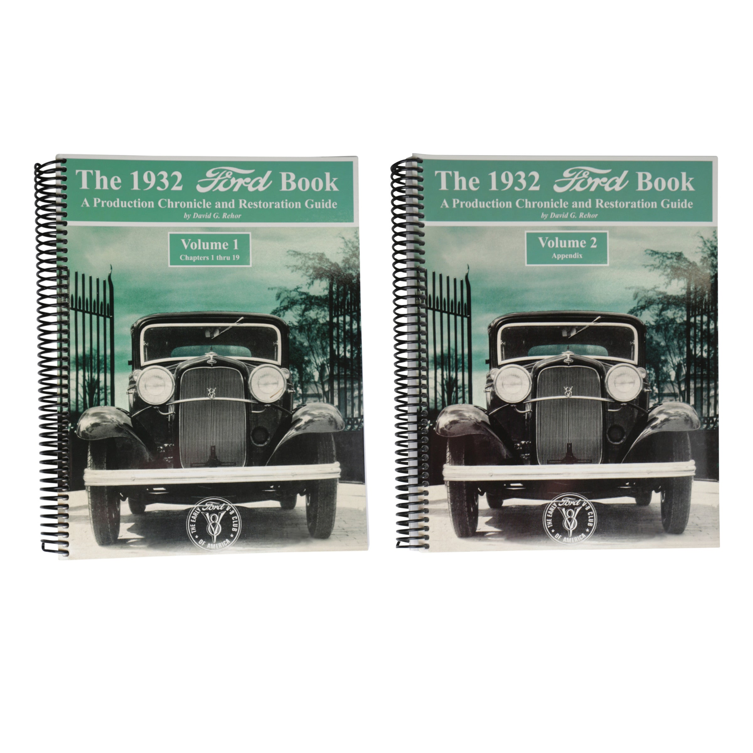 V-8 Club Production Chronicle & Restoration Guide • 1932 Ford