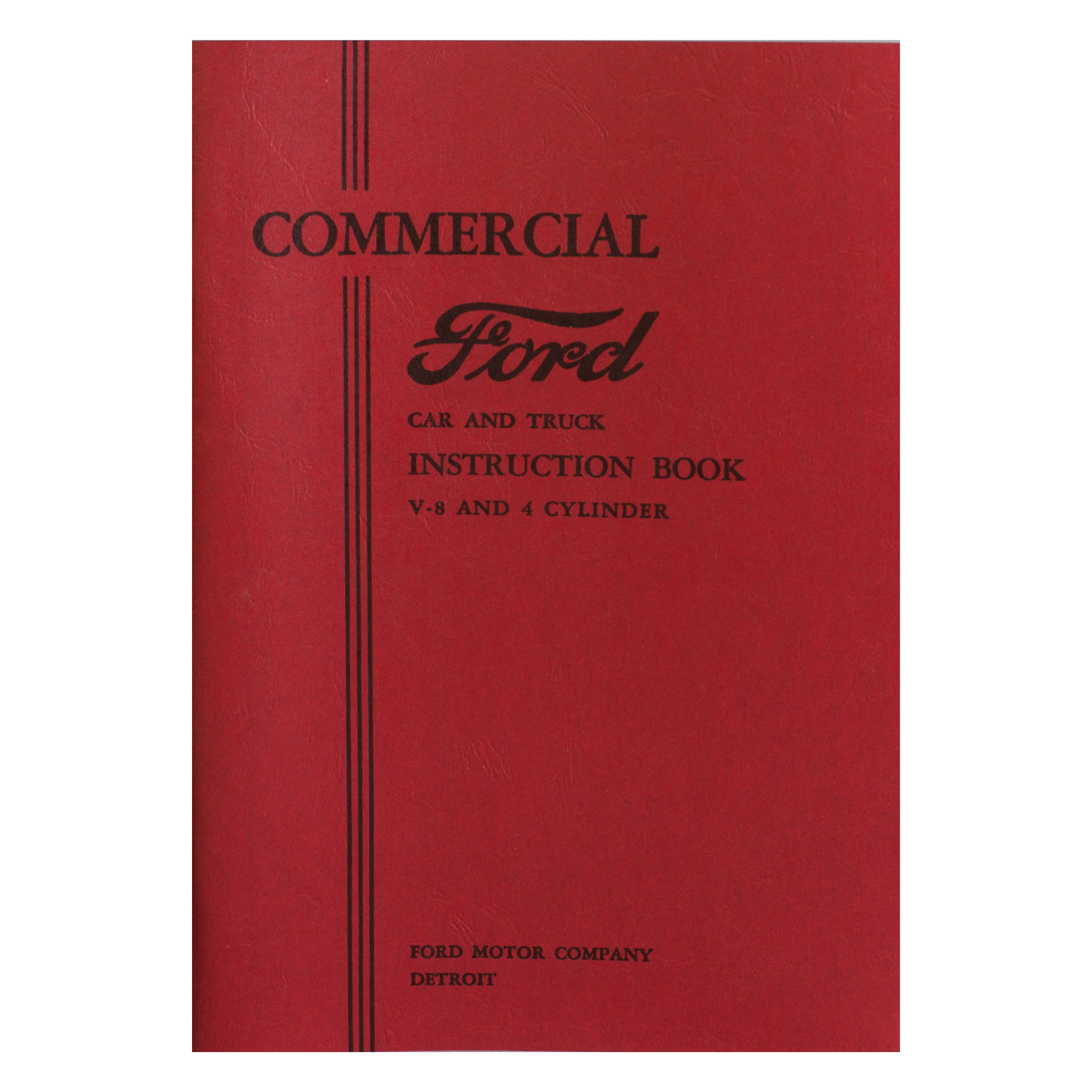 Owners Manual • 1933 Ford Pickup