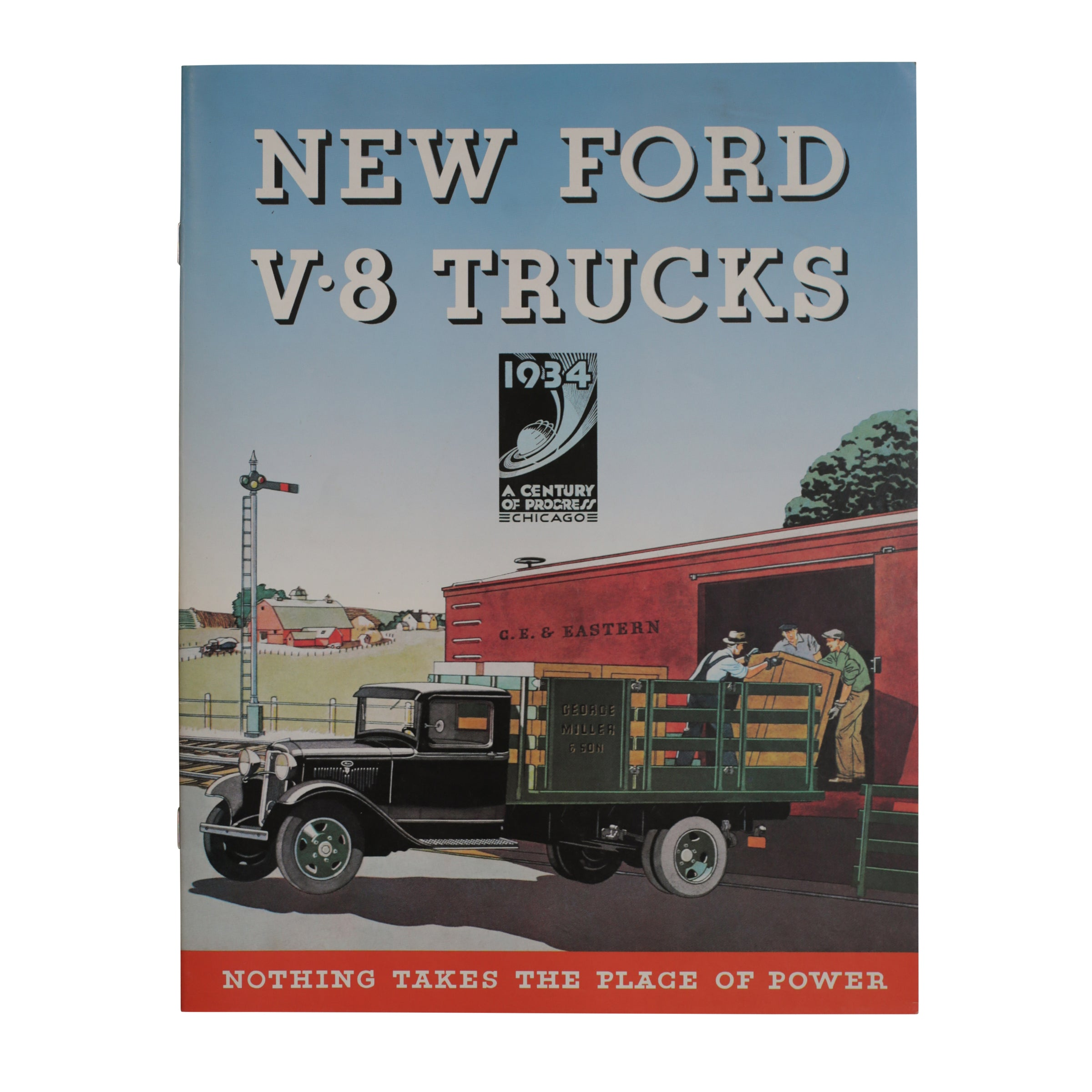 "Sales Brochure ""New Ford V-8 Trucks"" • 1934 Ford Pickup"