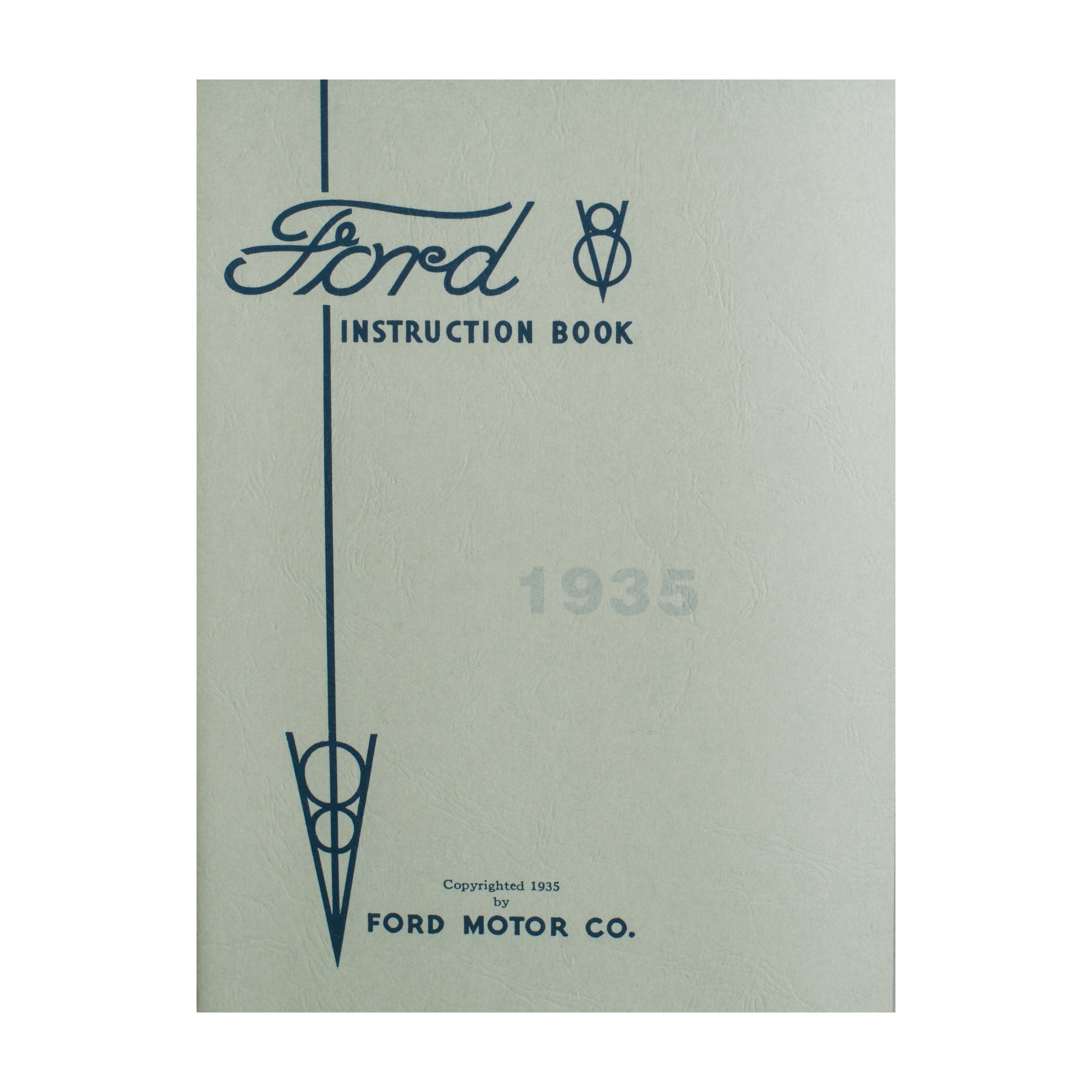 Owners Manual • 1935 Ford