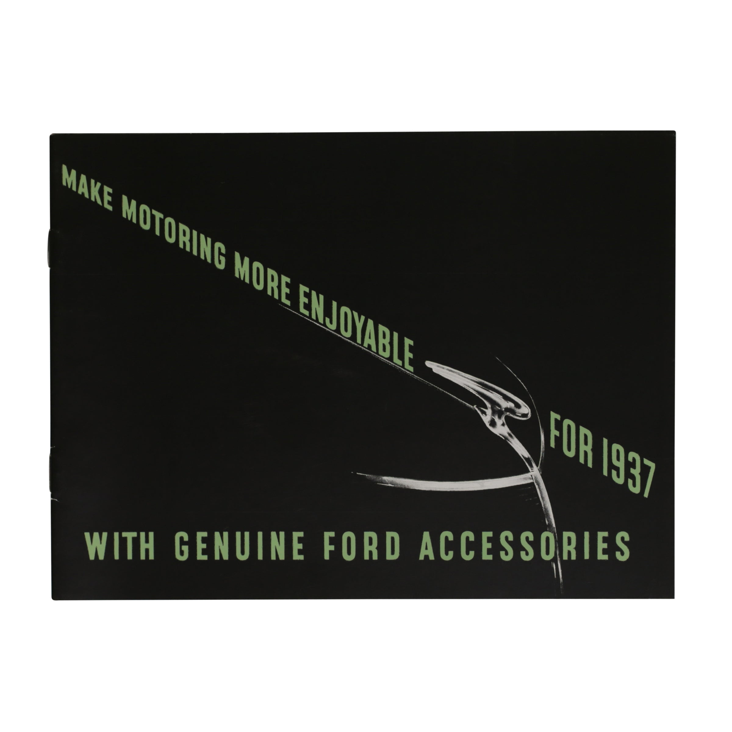 Accessories Brochure  • 1937 Ford