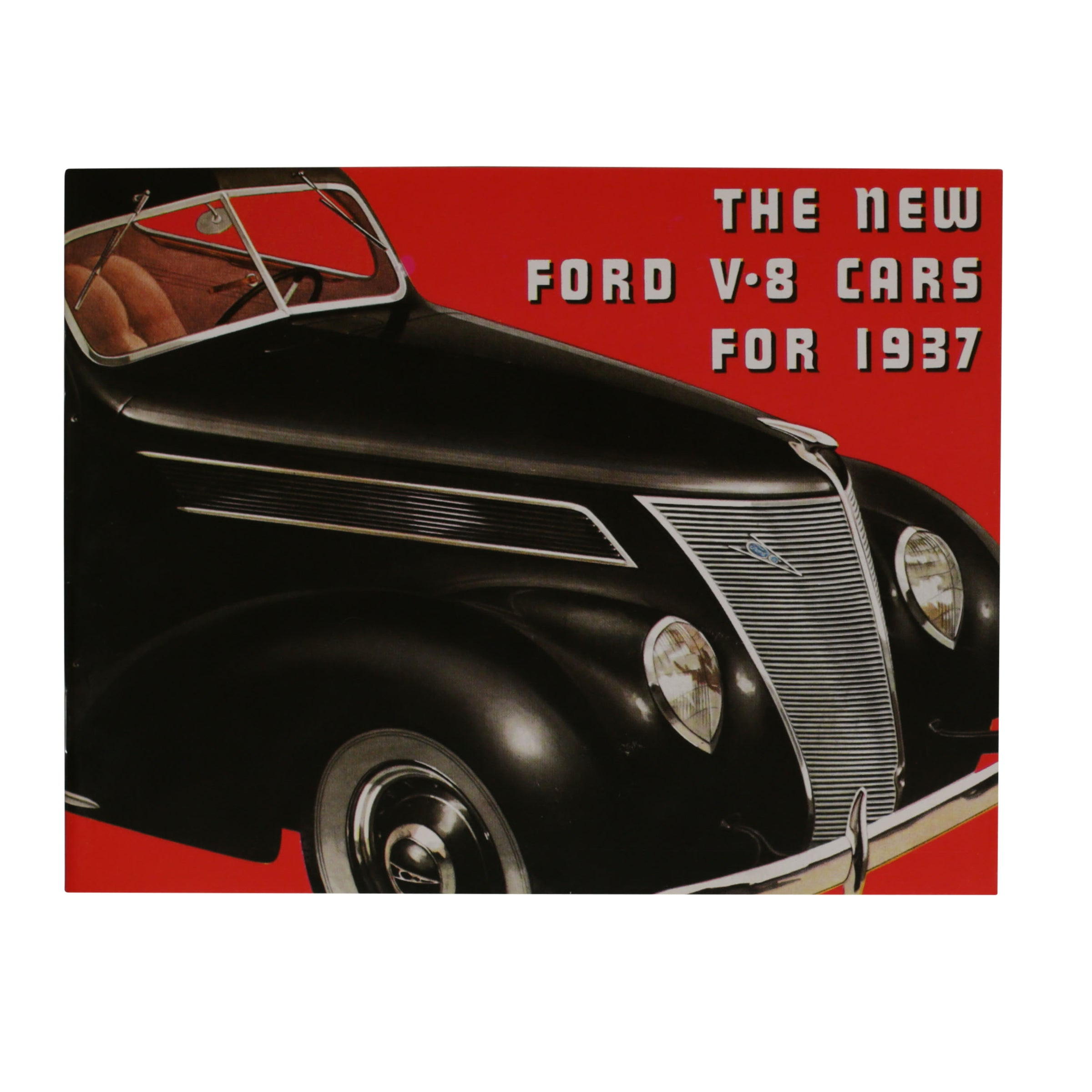Sales Brochure  • 1937 Ford