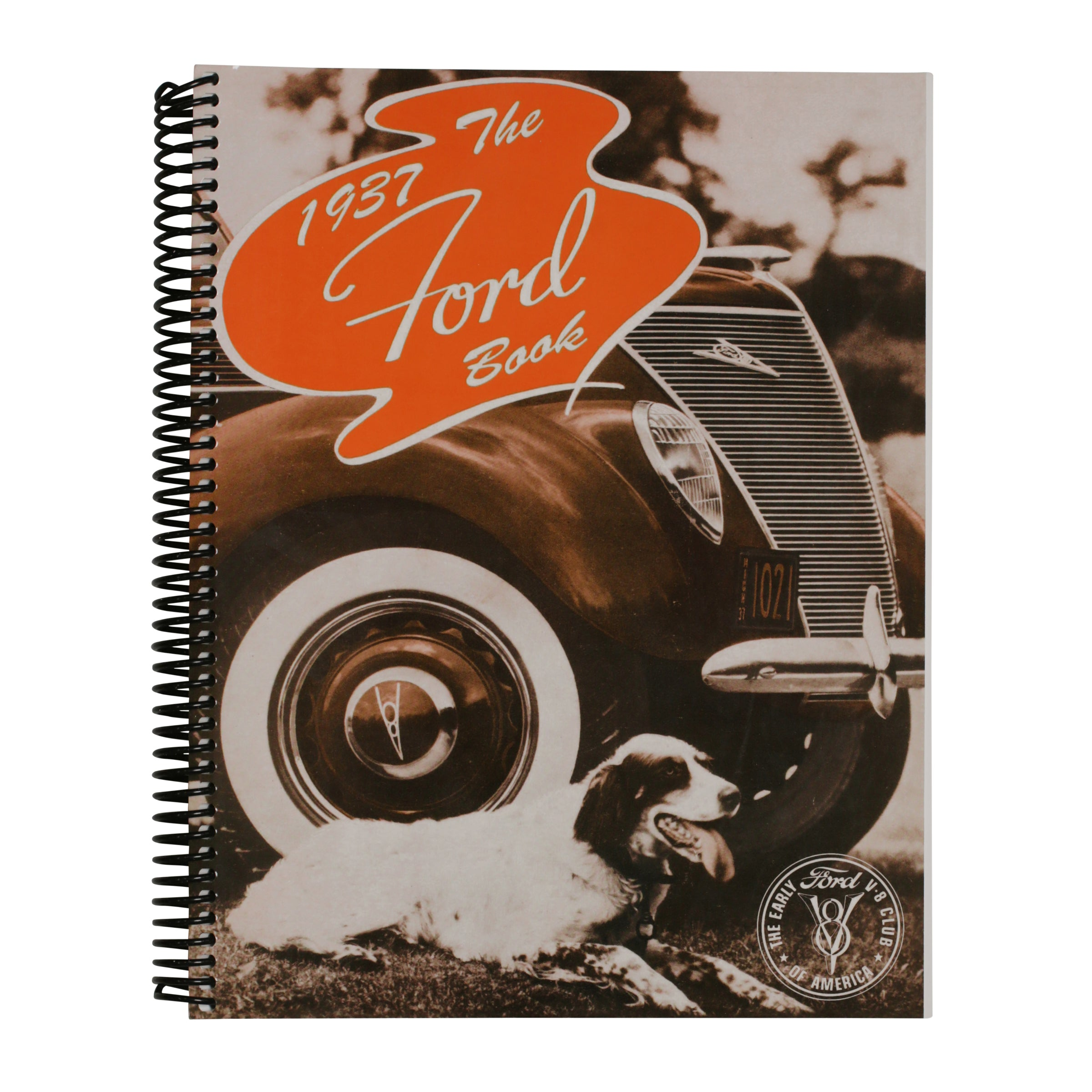V-8 Club Information Book (Soft Cover) • 1937 Ford