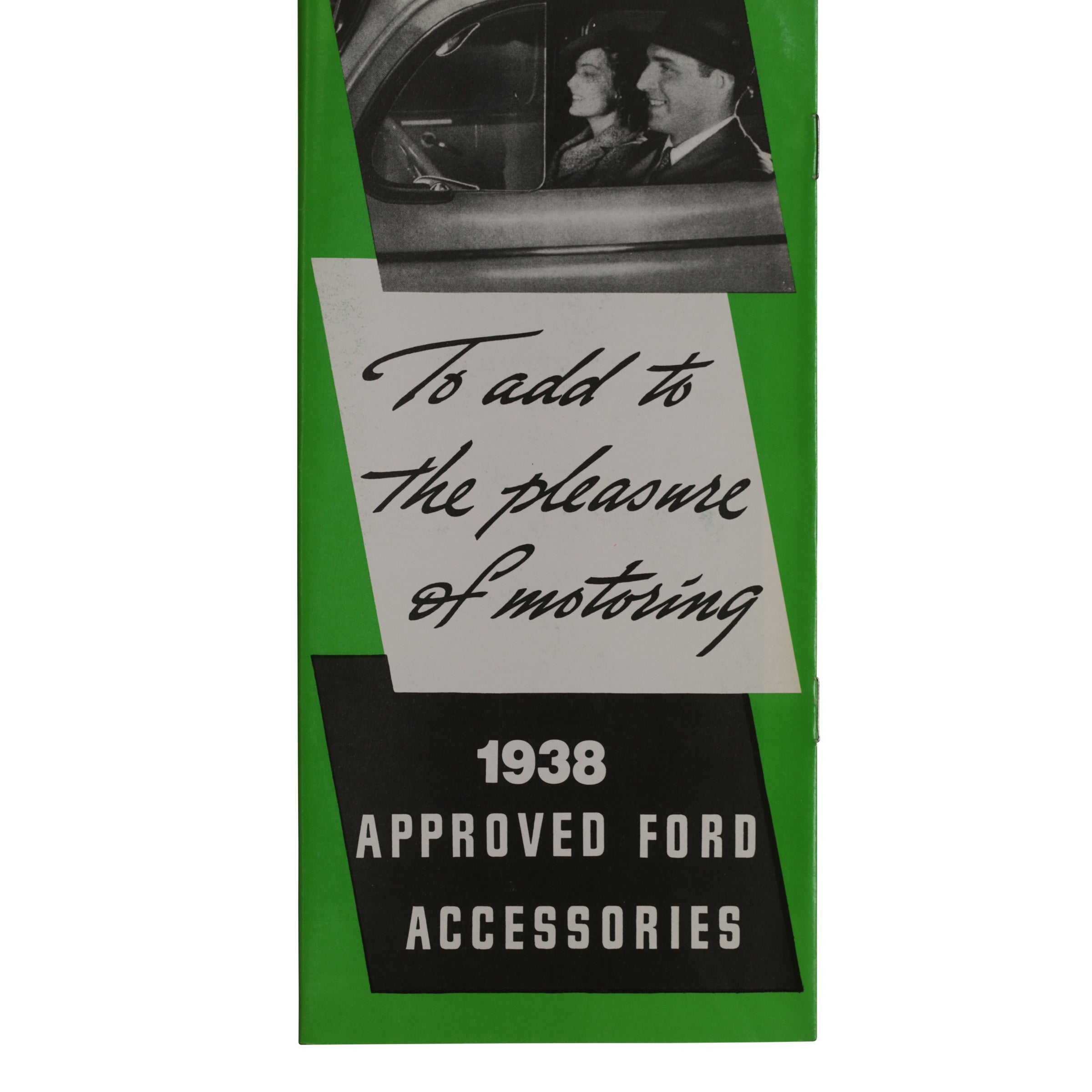 Accessories Brochure  • 1938 Ford