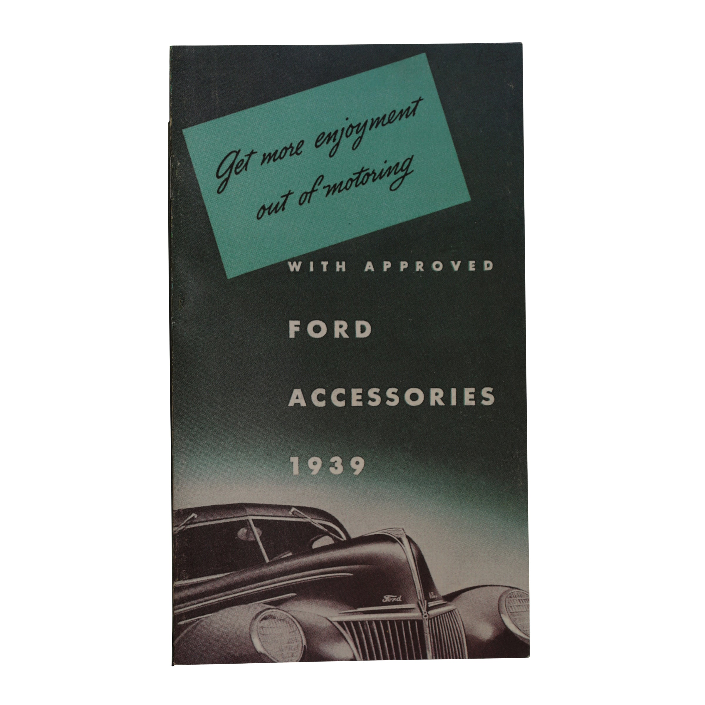 Accessories Brochure  • 1939 Ford