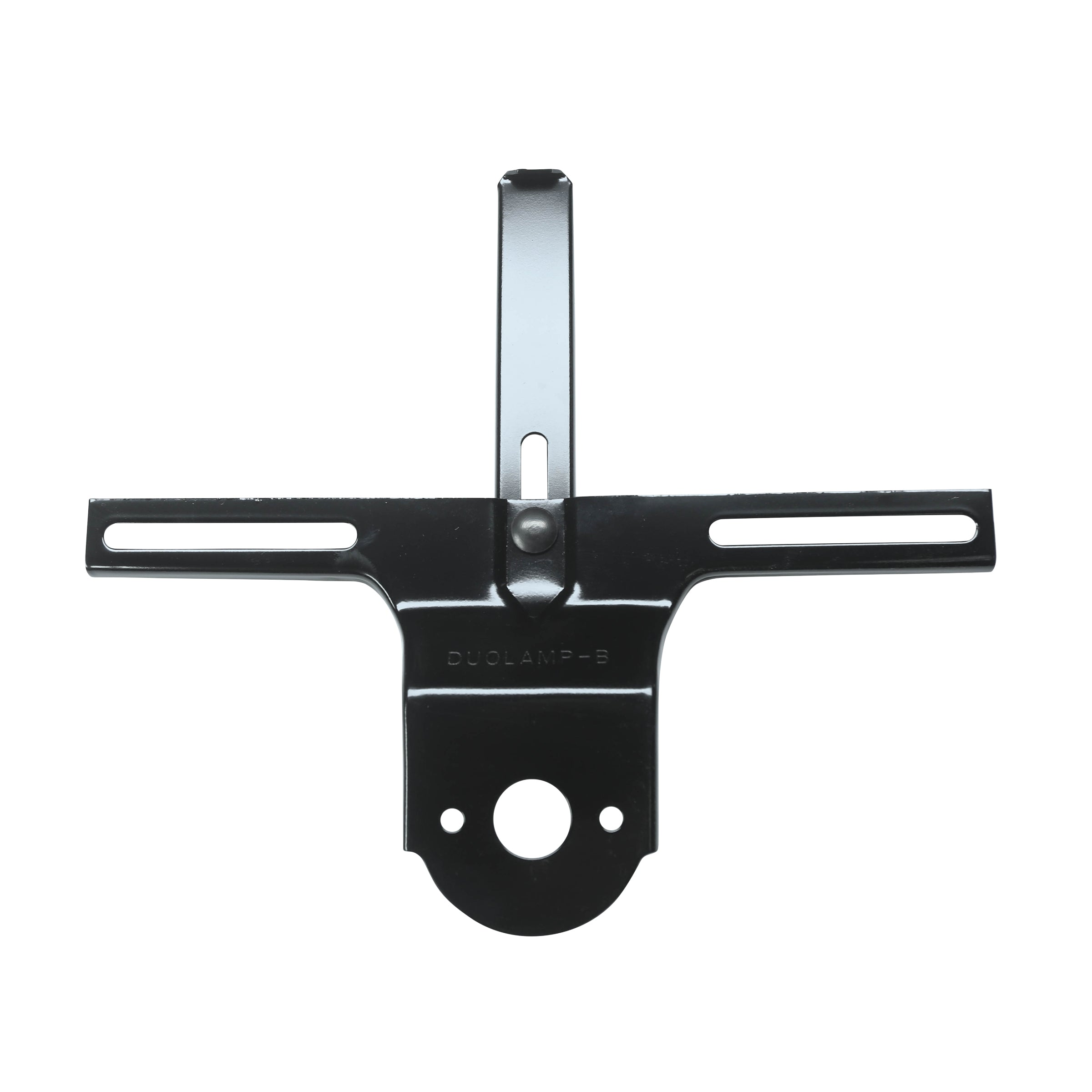 License Plate Bracket (Rear - Black) • 1933-36 Passenger
