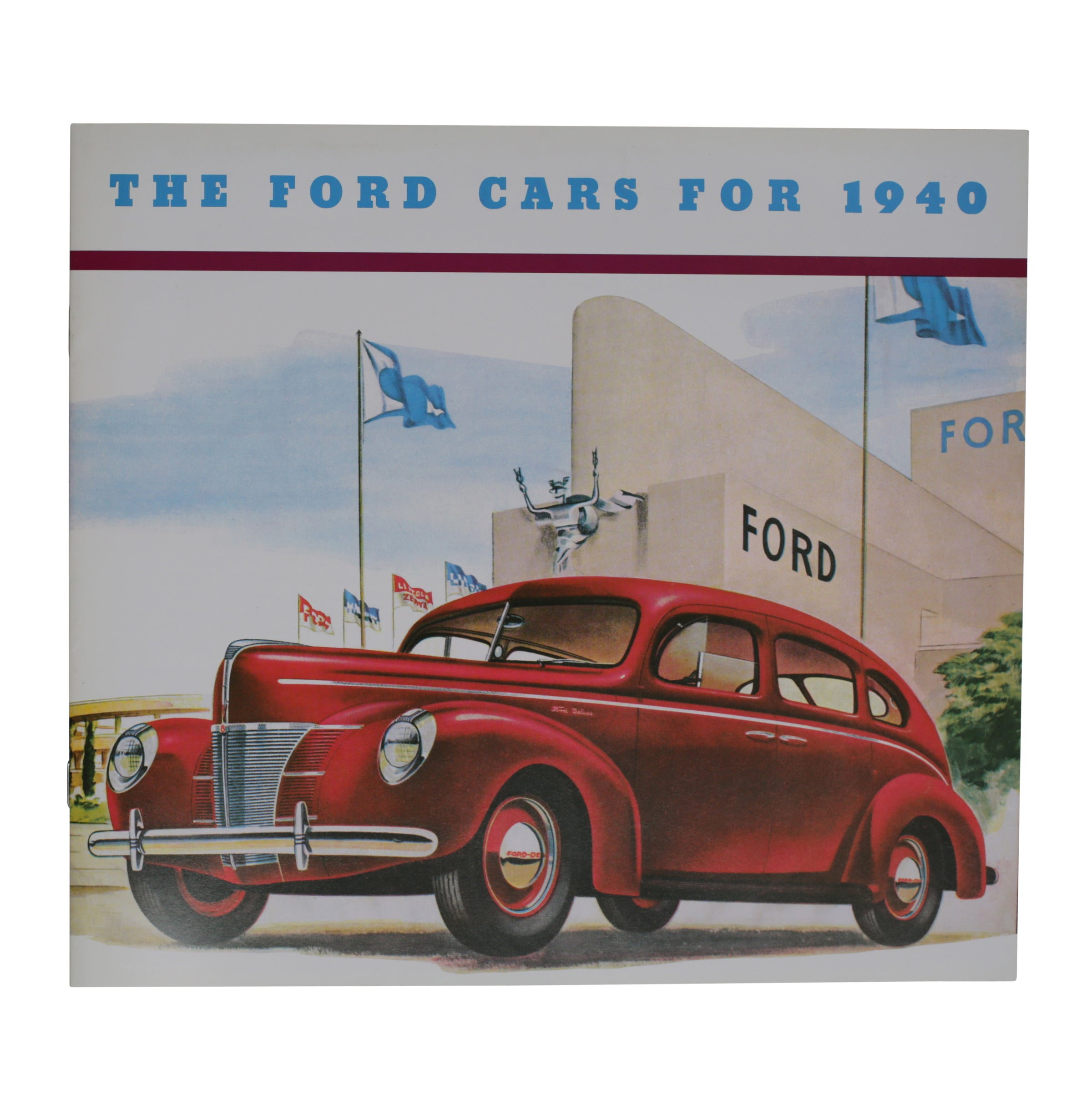 Sales Brochure • 1940 Ford