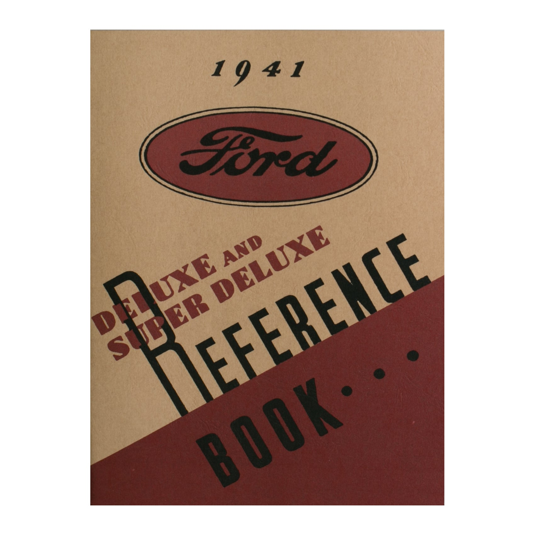 Owners Manual • 1941 Ford