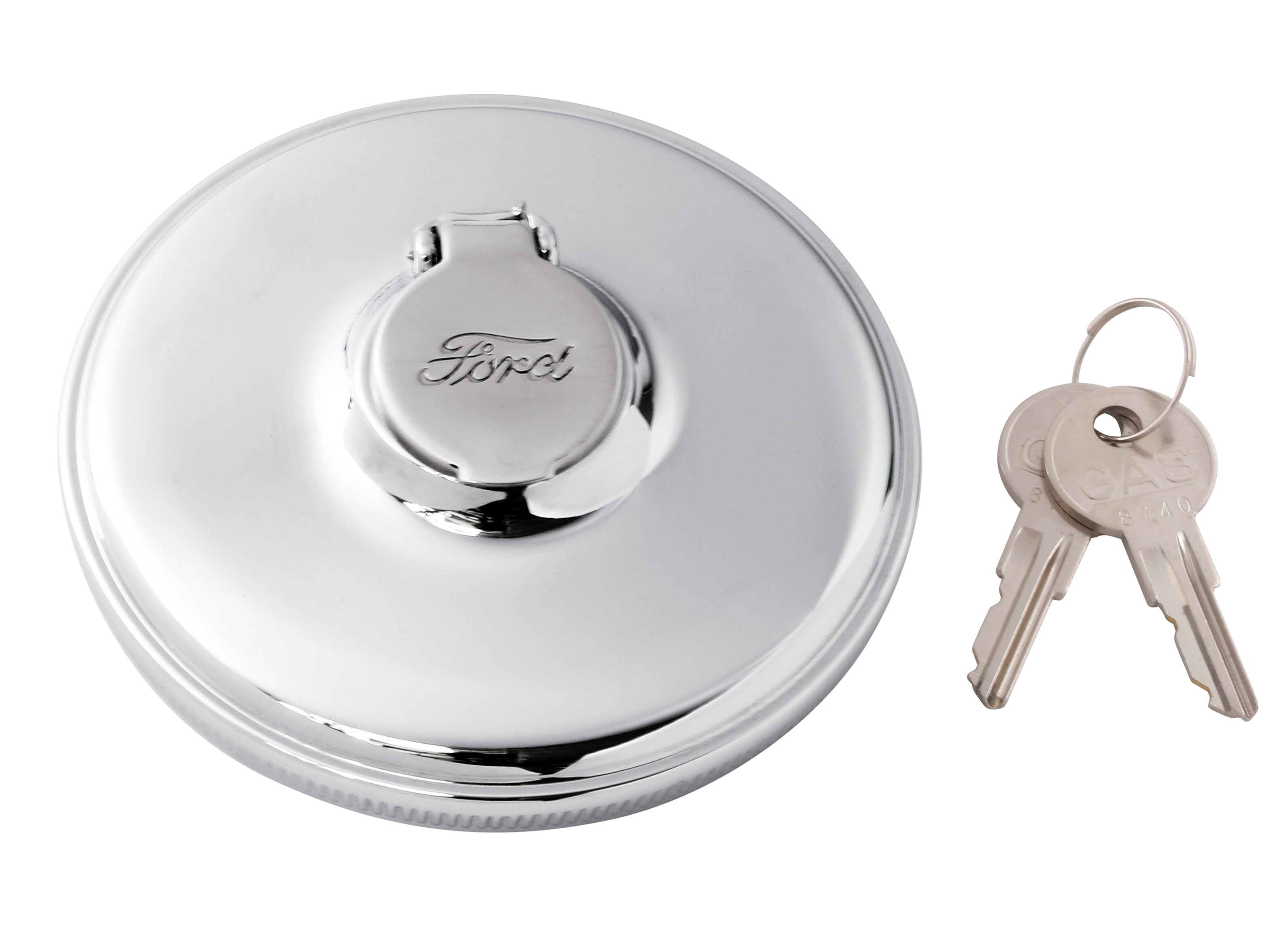 Locking Gas Cap (Ford Script) • 1932-48 Ford Passenger & 1932-47 Pickup