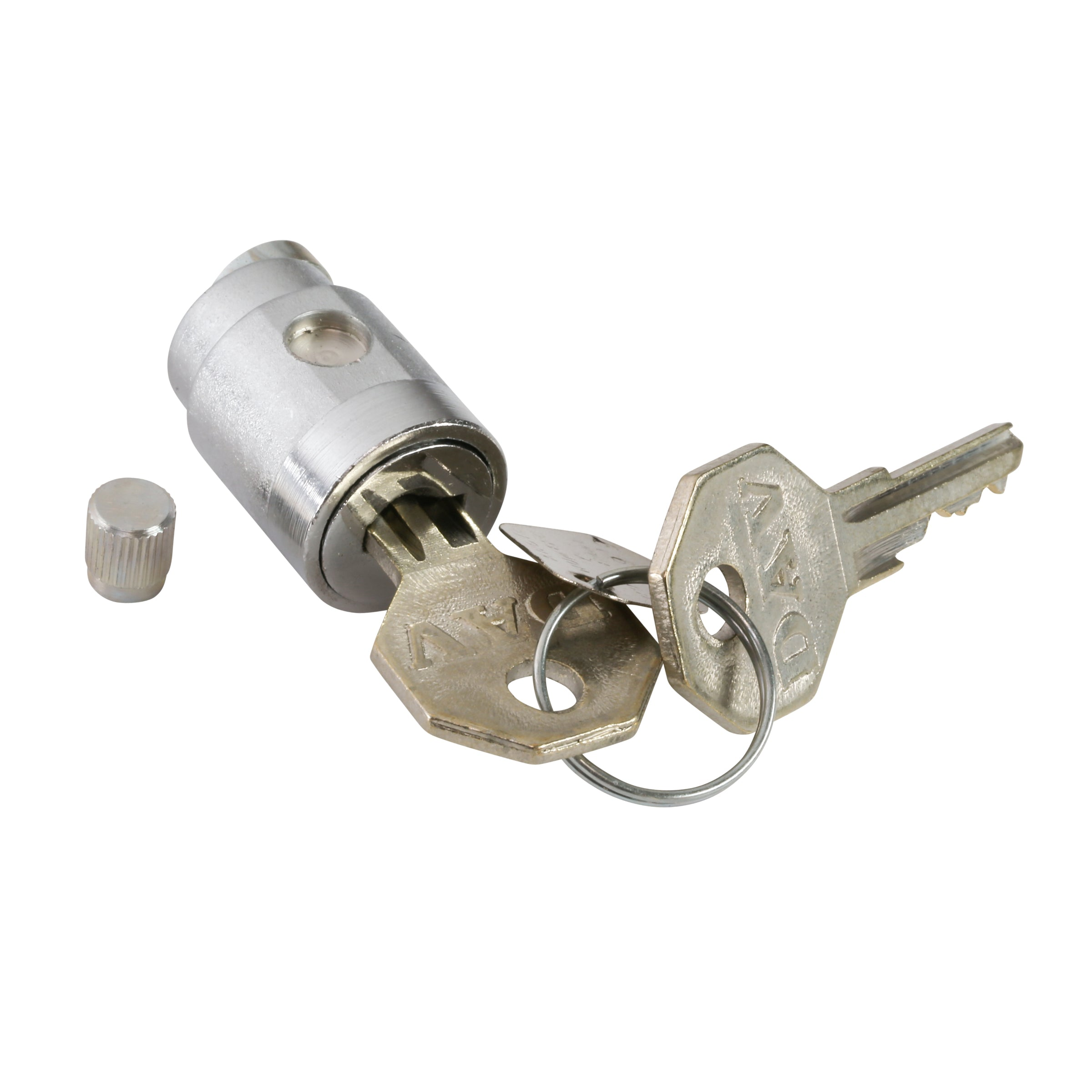 Ignition Cylinder with Keys • 1935-48