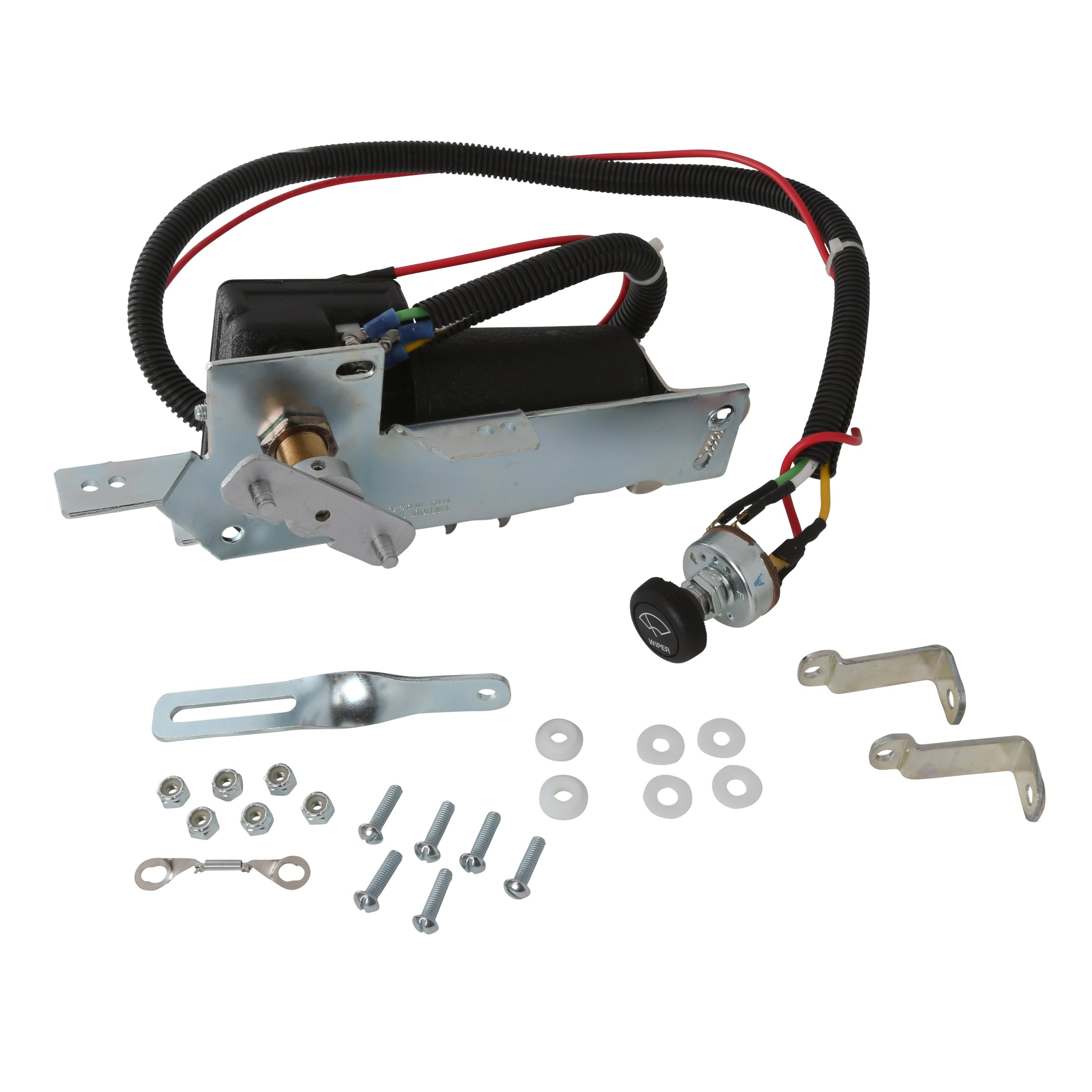 Electric Wiper Motor Conversion Kit • 1946-48 Passenger 6 Volt