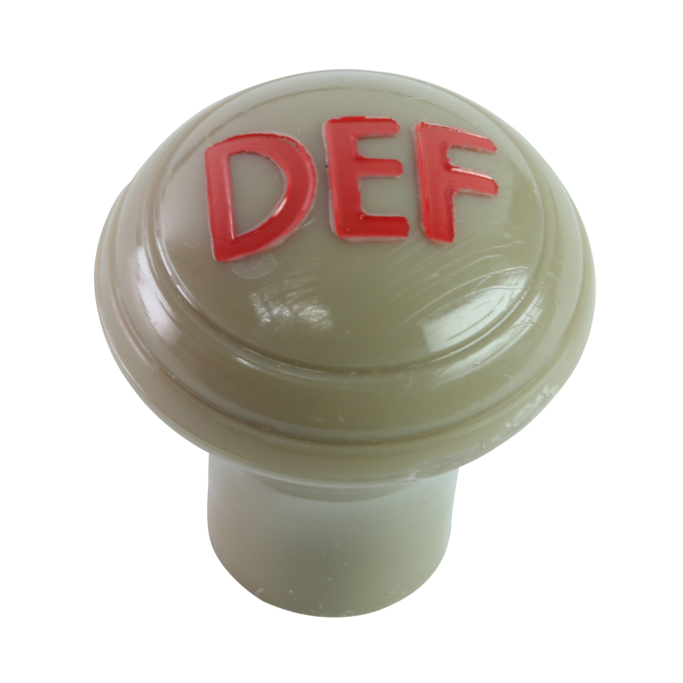 Hot Water Heater Defroster Knob (Gray Tan) • 1946