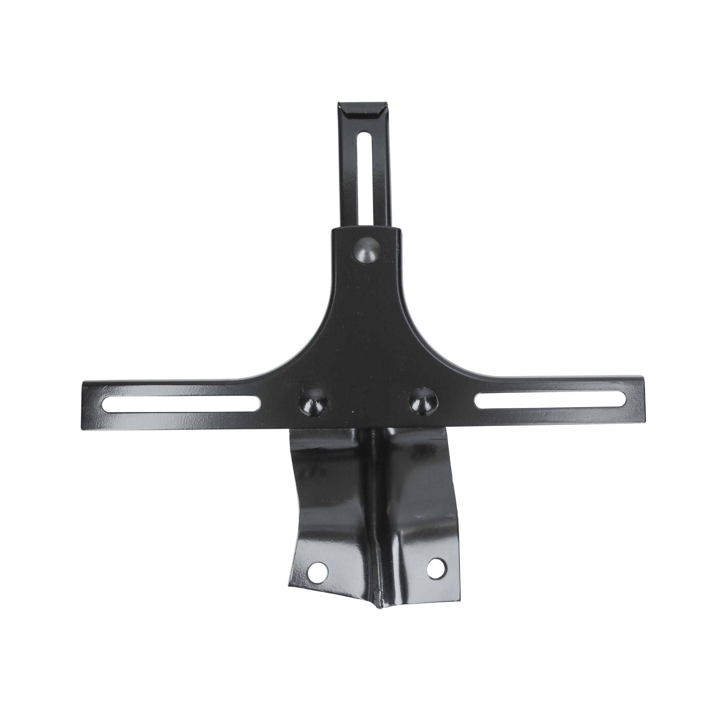 Front License Plate Bracket (Black) • 1937-39 Ford Standard