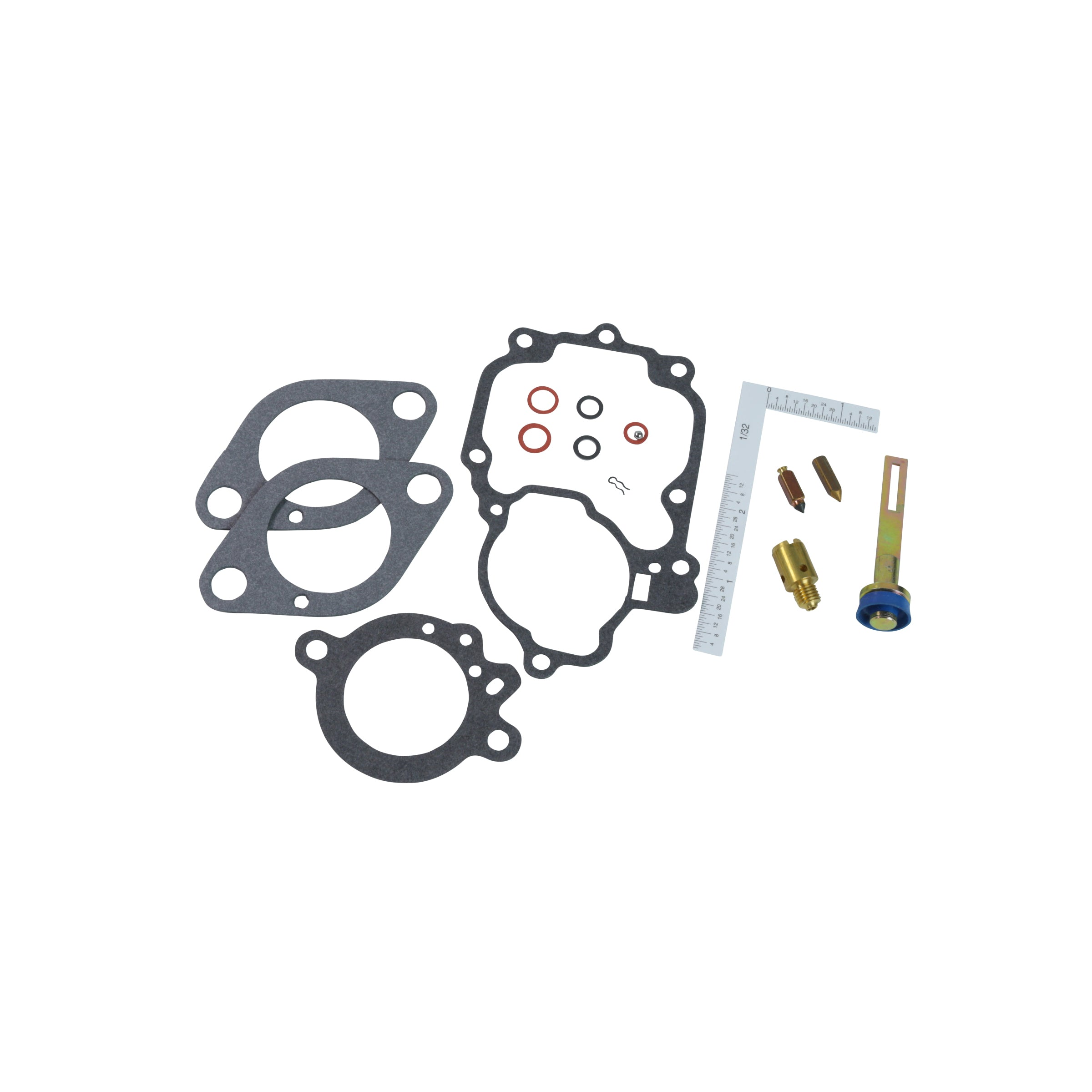 Holley Carburetor Rebuildl Kit • 1941-51 6 Cylinder