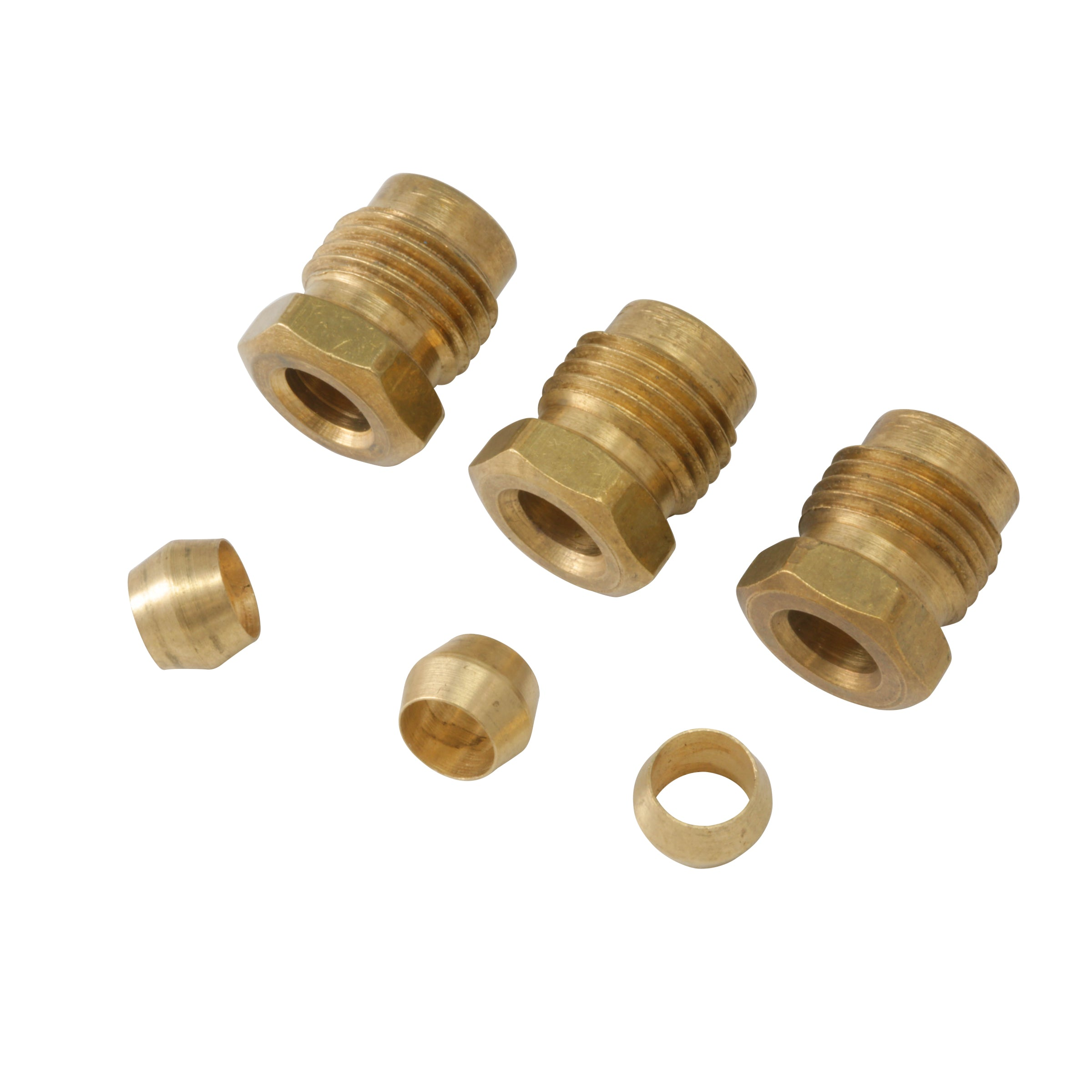 Stromberg Nut Compression Fitting Set