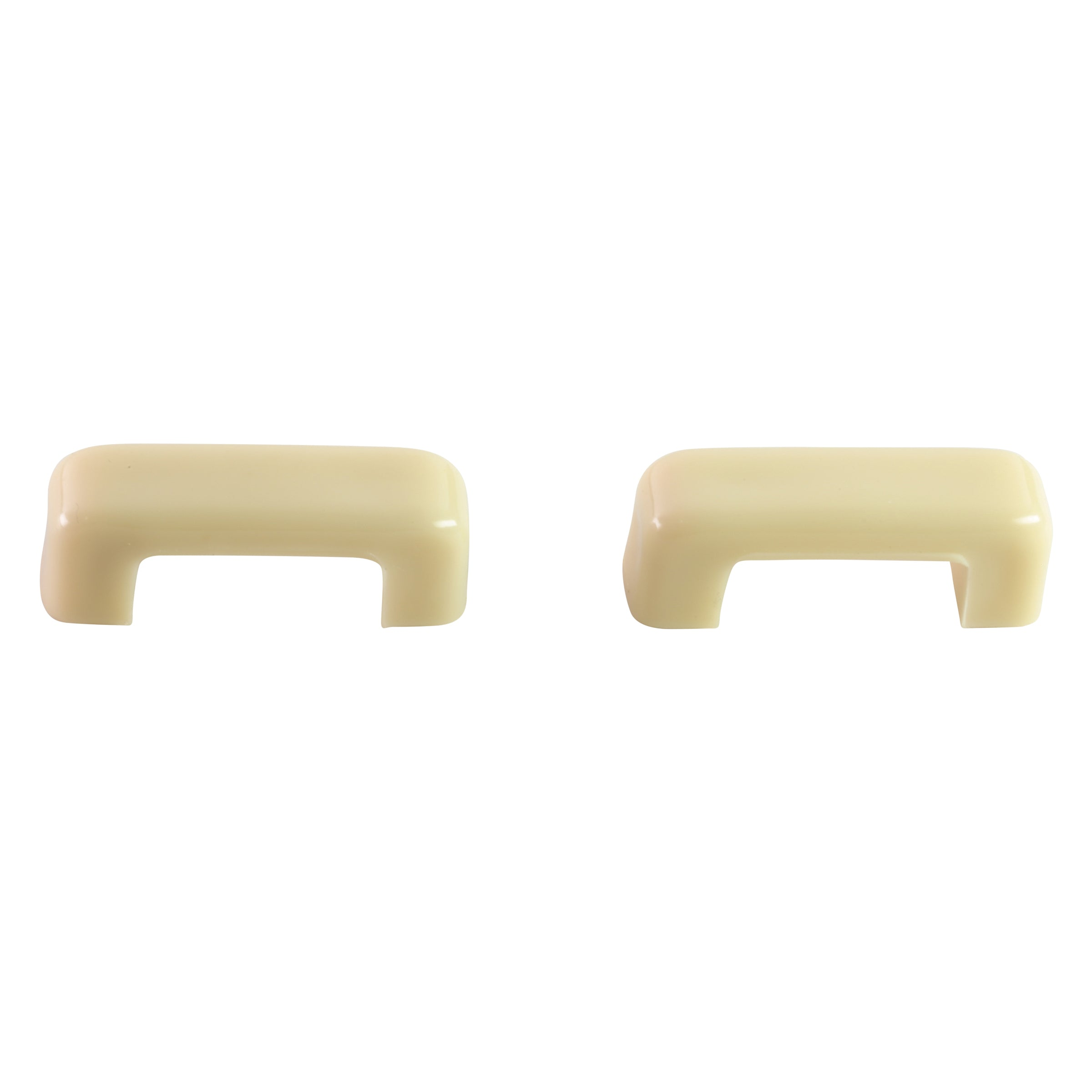 Heater Door Knobs (White) • 1939 Ford