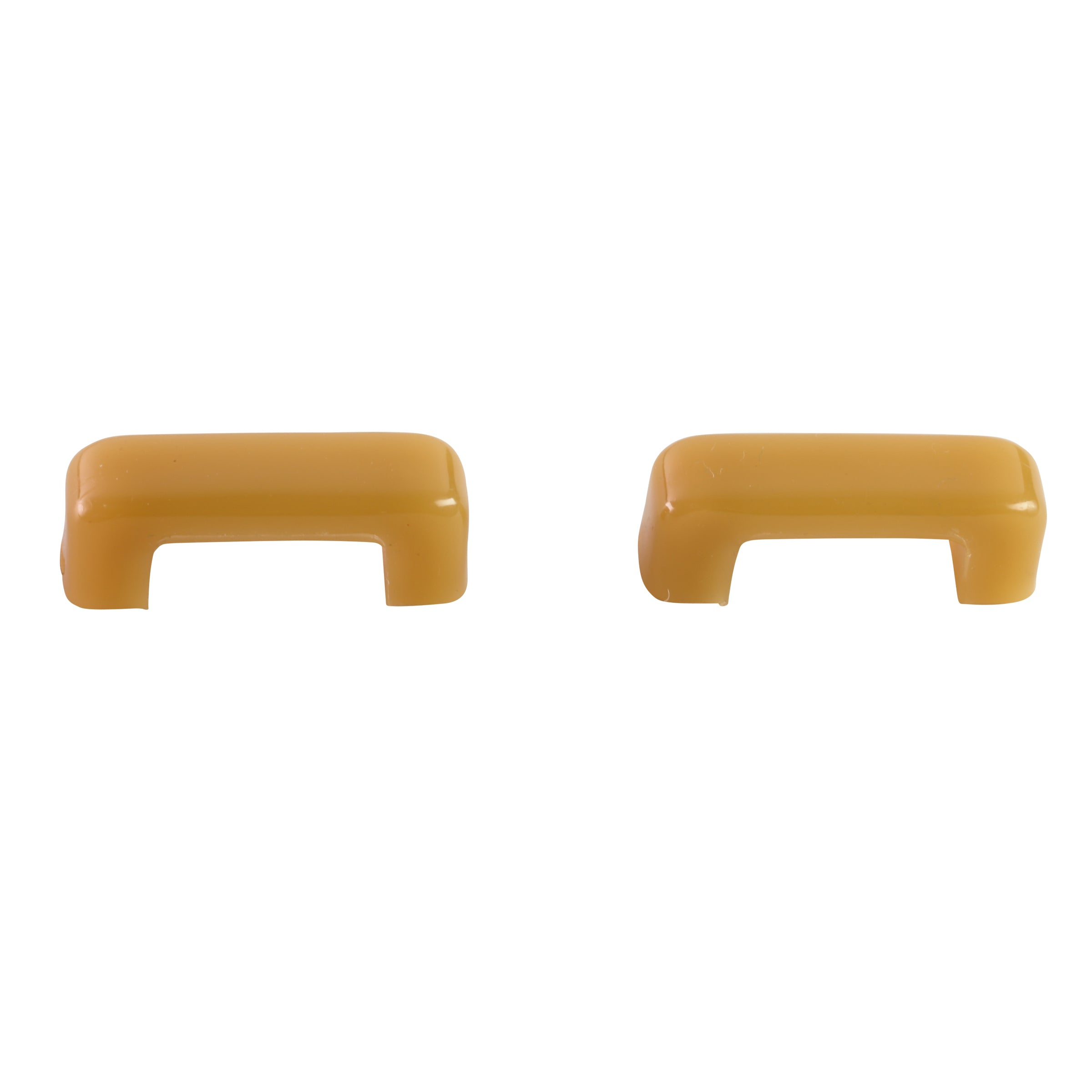 Heater Door Knobs (Light Yellow) • 1939 Ford