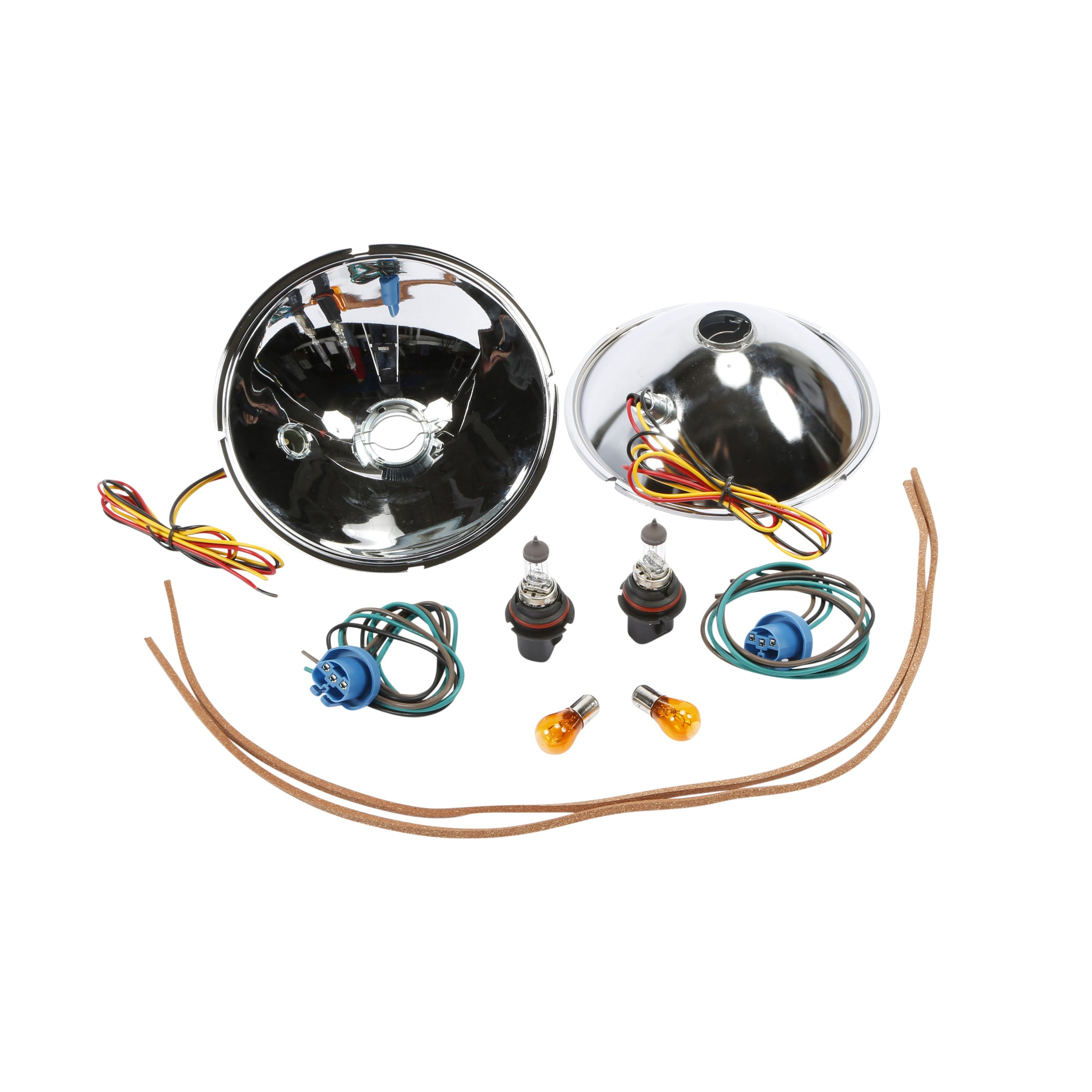 Quartz Halogen Kit with Reflectors (12 Volt With Turn Signals) • 1928-31 Model A Ford