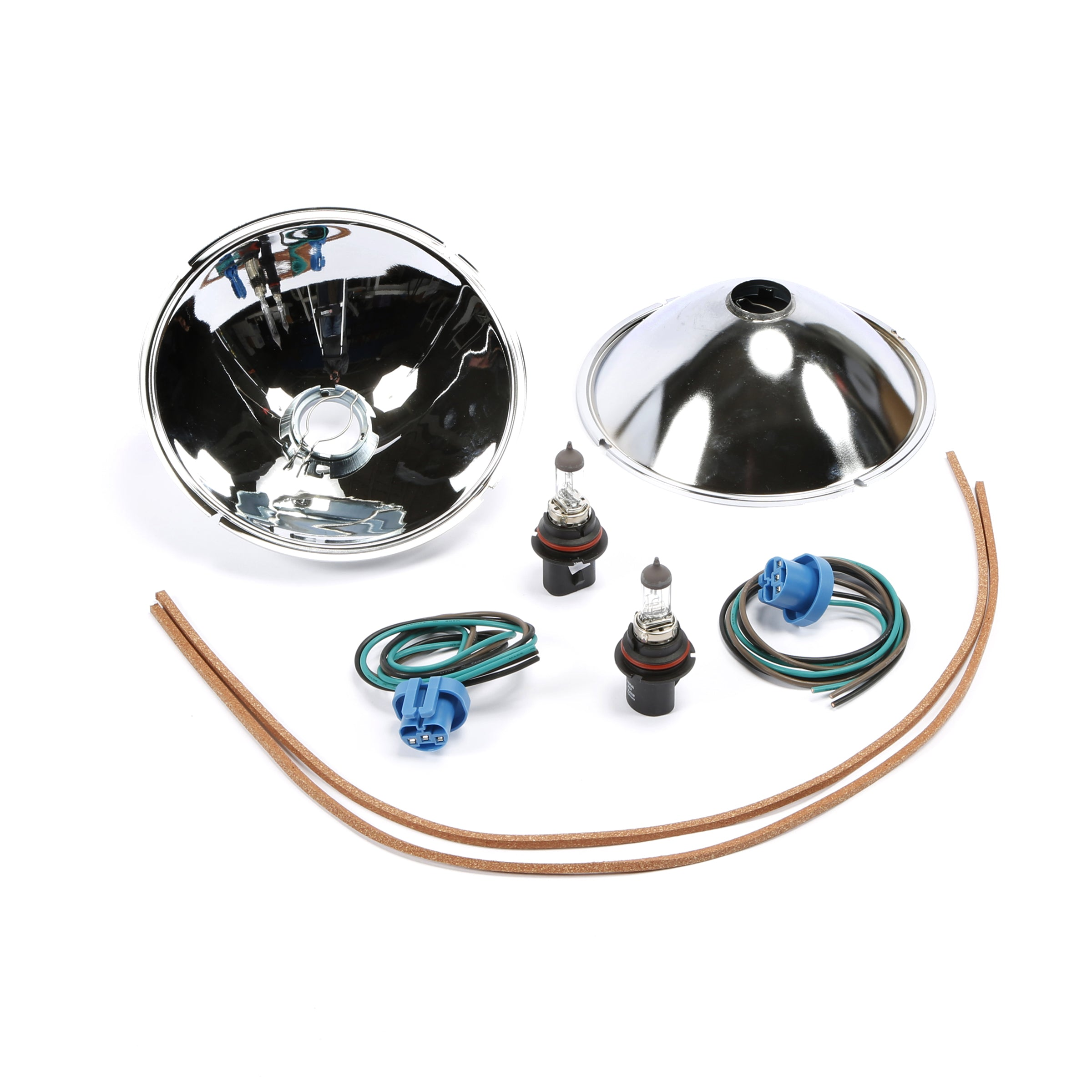 Quartz Halogen Kit with Reflectors (6 Volt) • 1928-31 Model A Ford