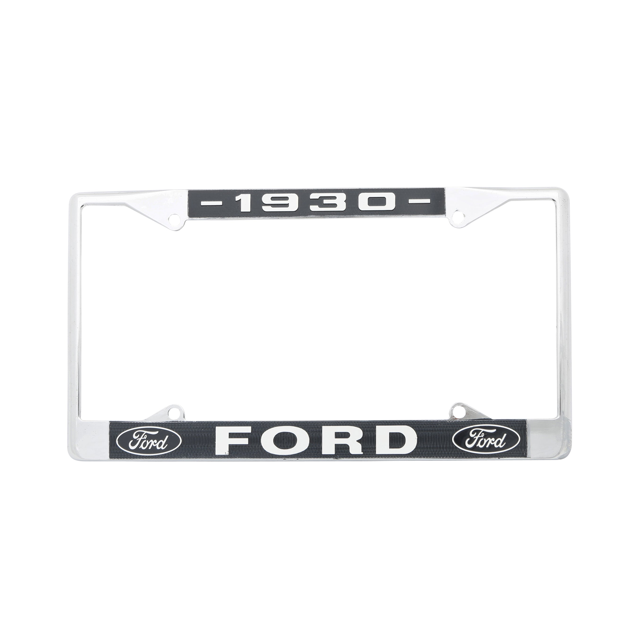Rear License Plate Frame • 1930