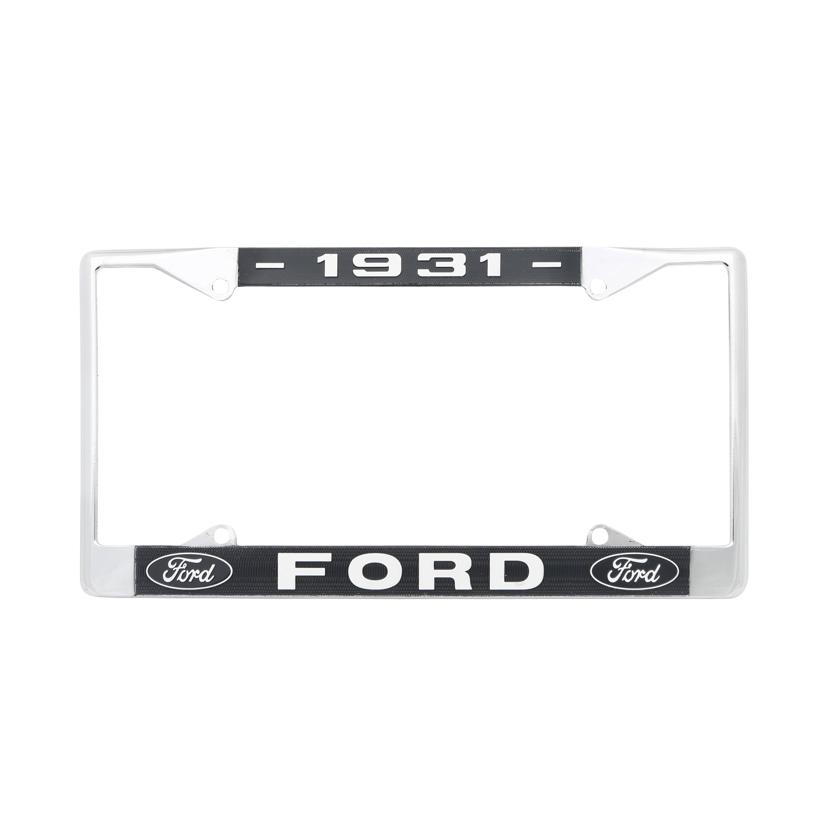 Rear License Plate Frame • 1931
