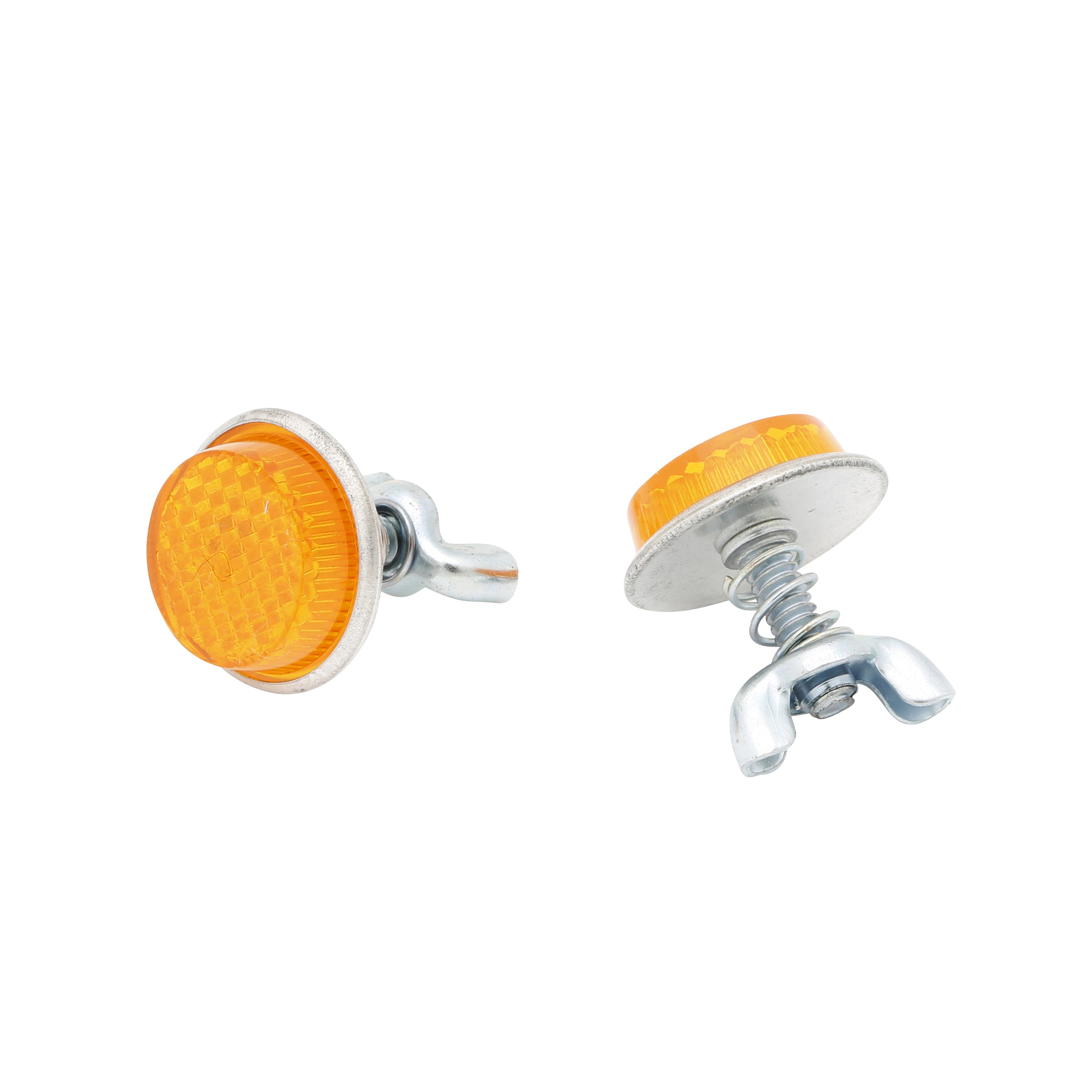 License Plate Reflectors Ford • Amber
