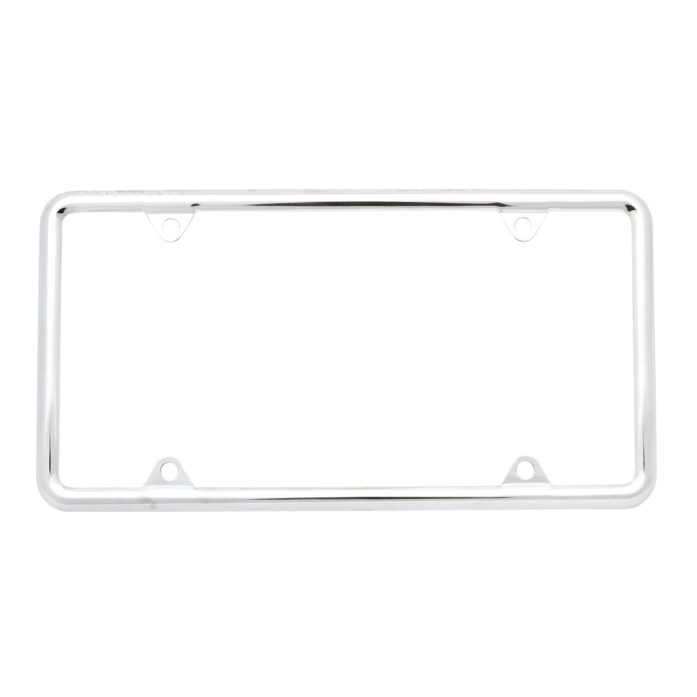 Chrome License Plate Frame • Economy