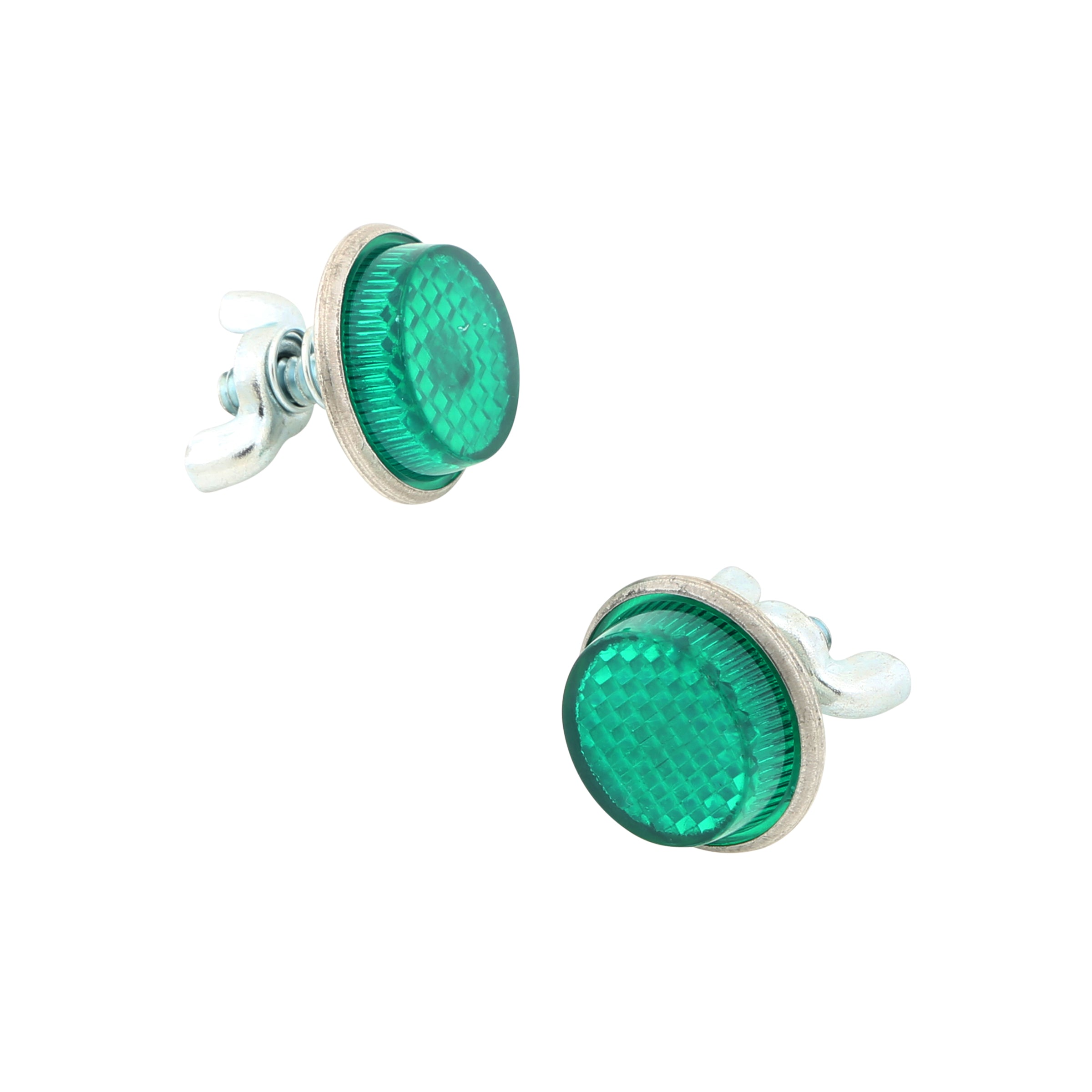 License Plate Reflector Bolts (Green) • Ford