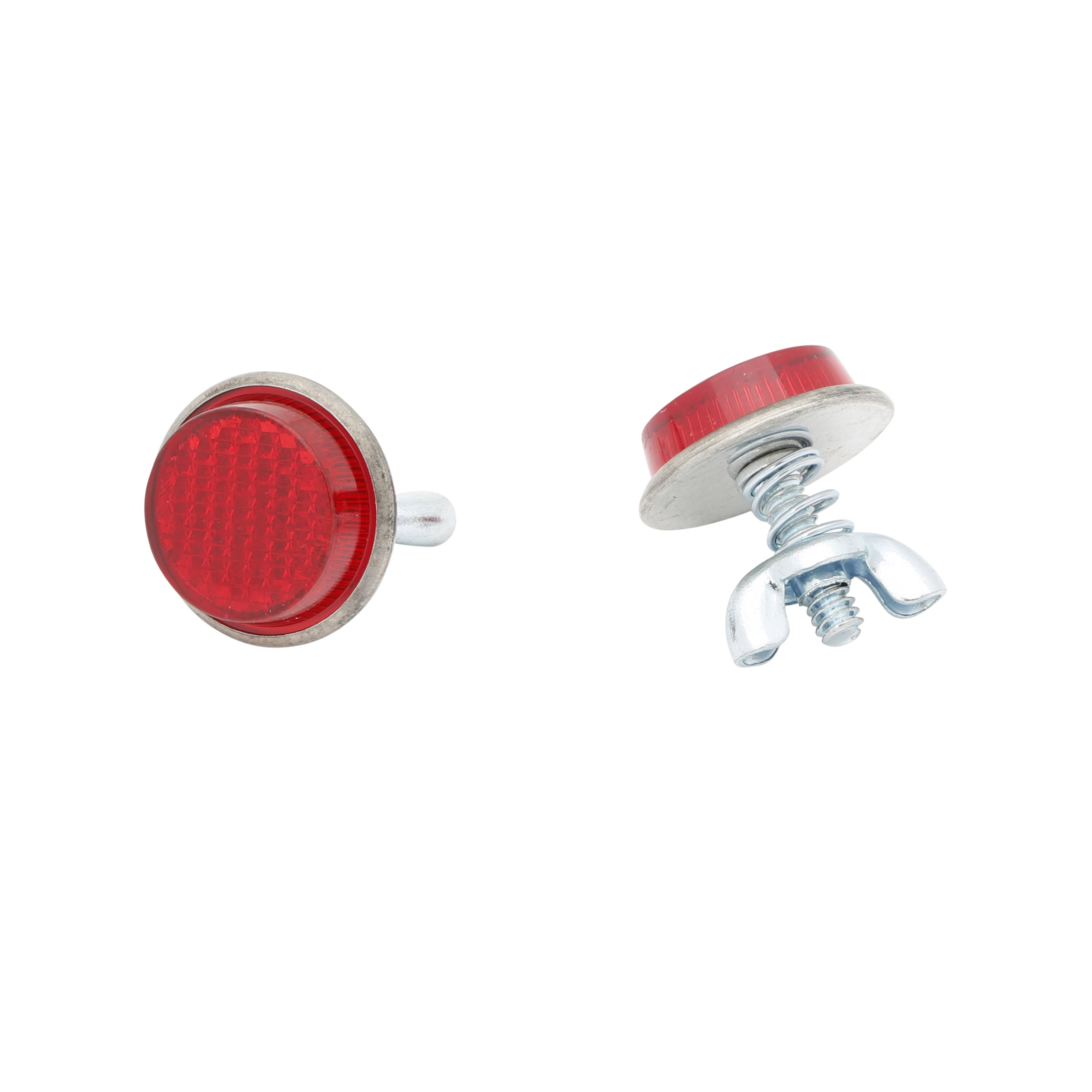 License Plate Reflector Bolts (Red) • Ford