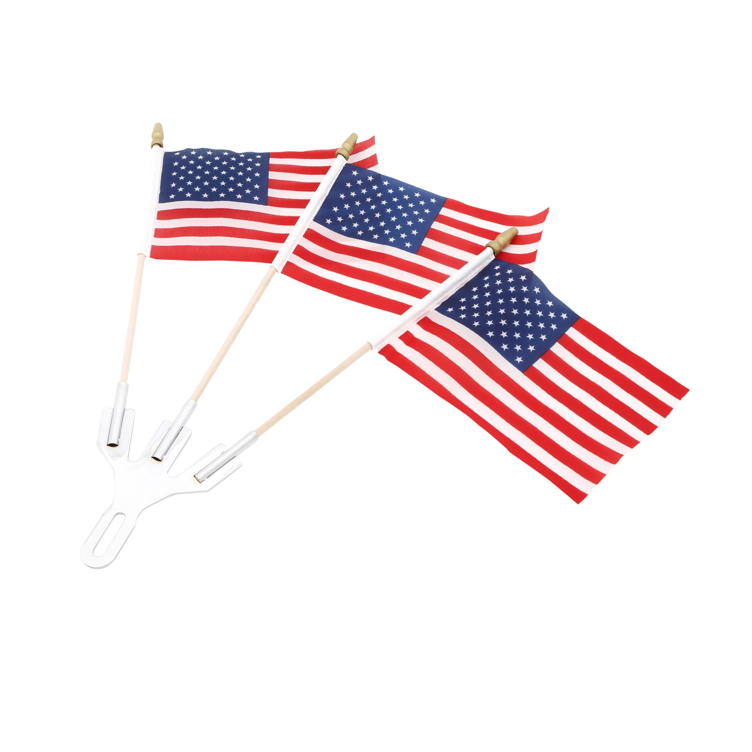 Flag Accessory Set (3 Flags-Stainless Steel)