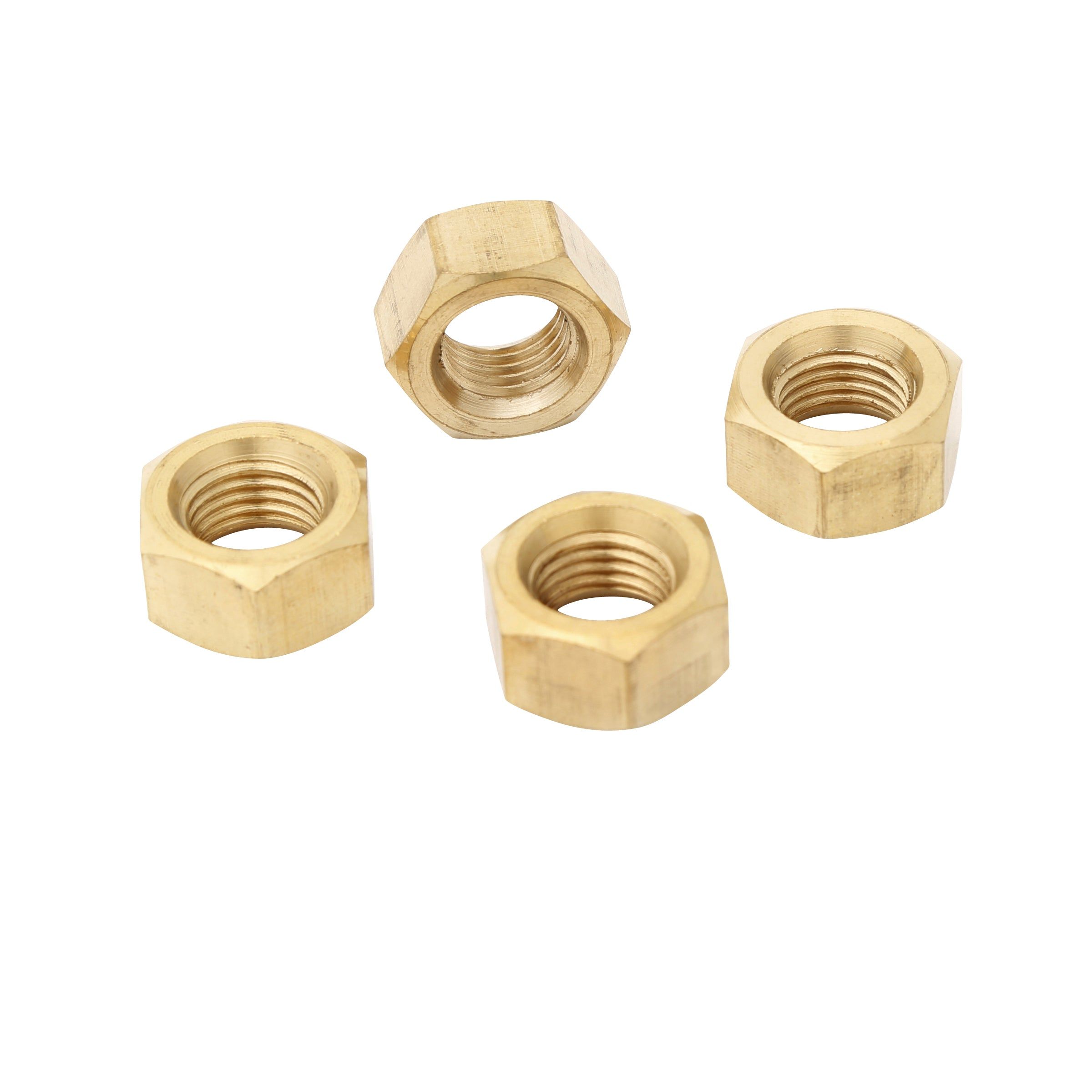 Exhaust Manifold Nuts • 1928-31 Brass