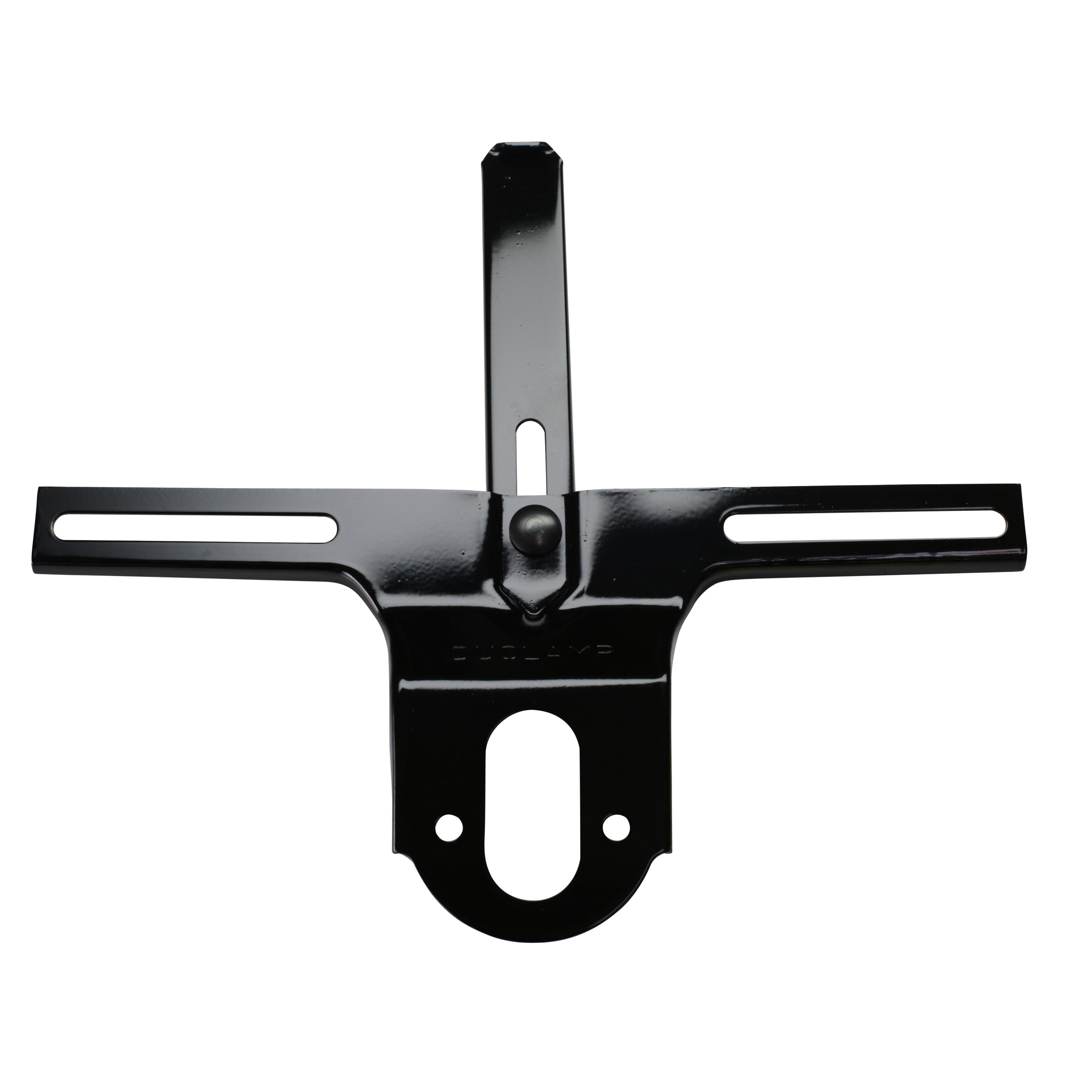 Rear License Plate Bracket (Black) • 1932 Passenger
