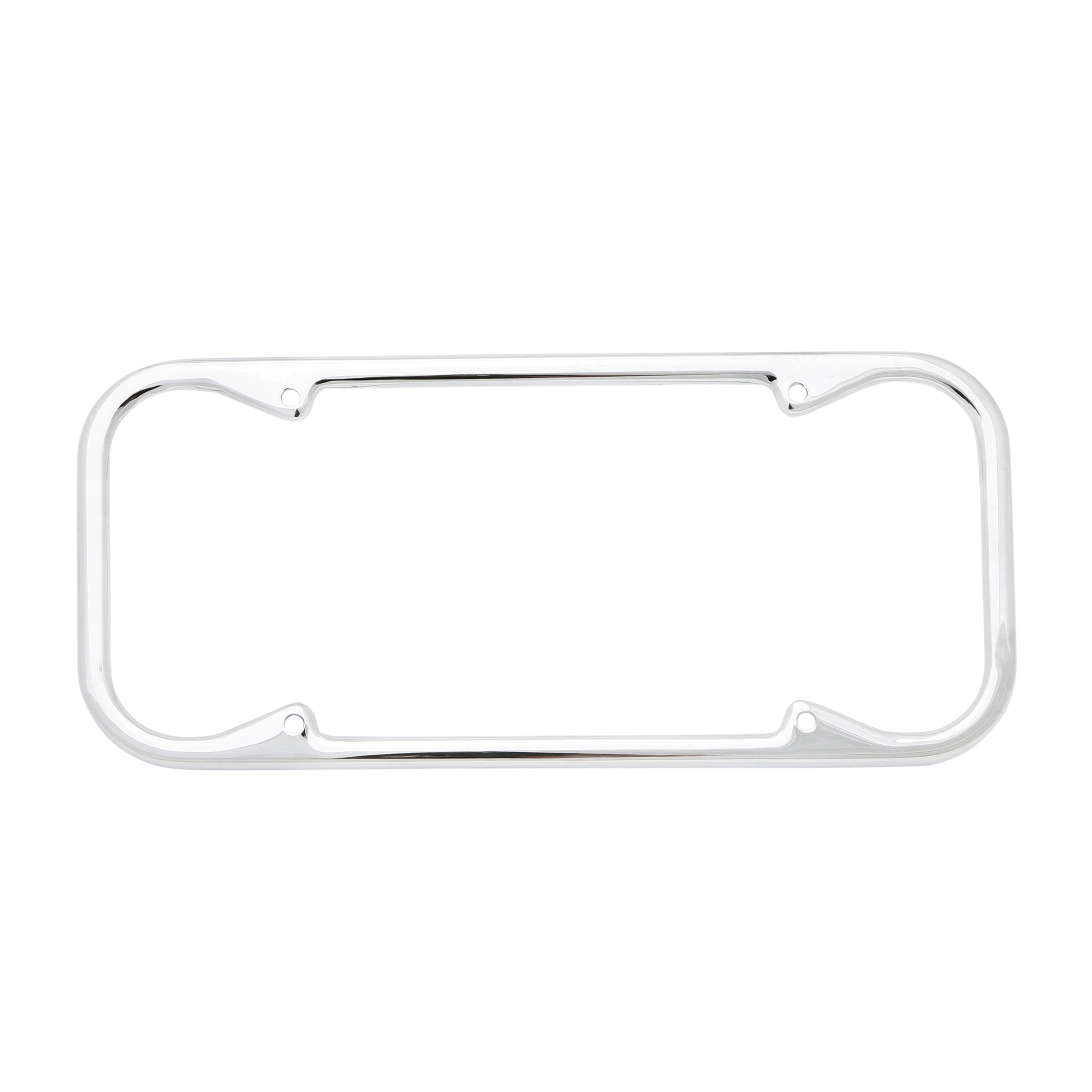 License Plate Frame Ford • Chrome Rounded