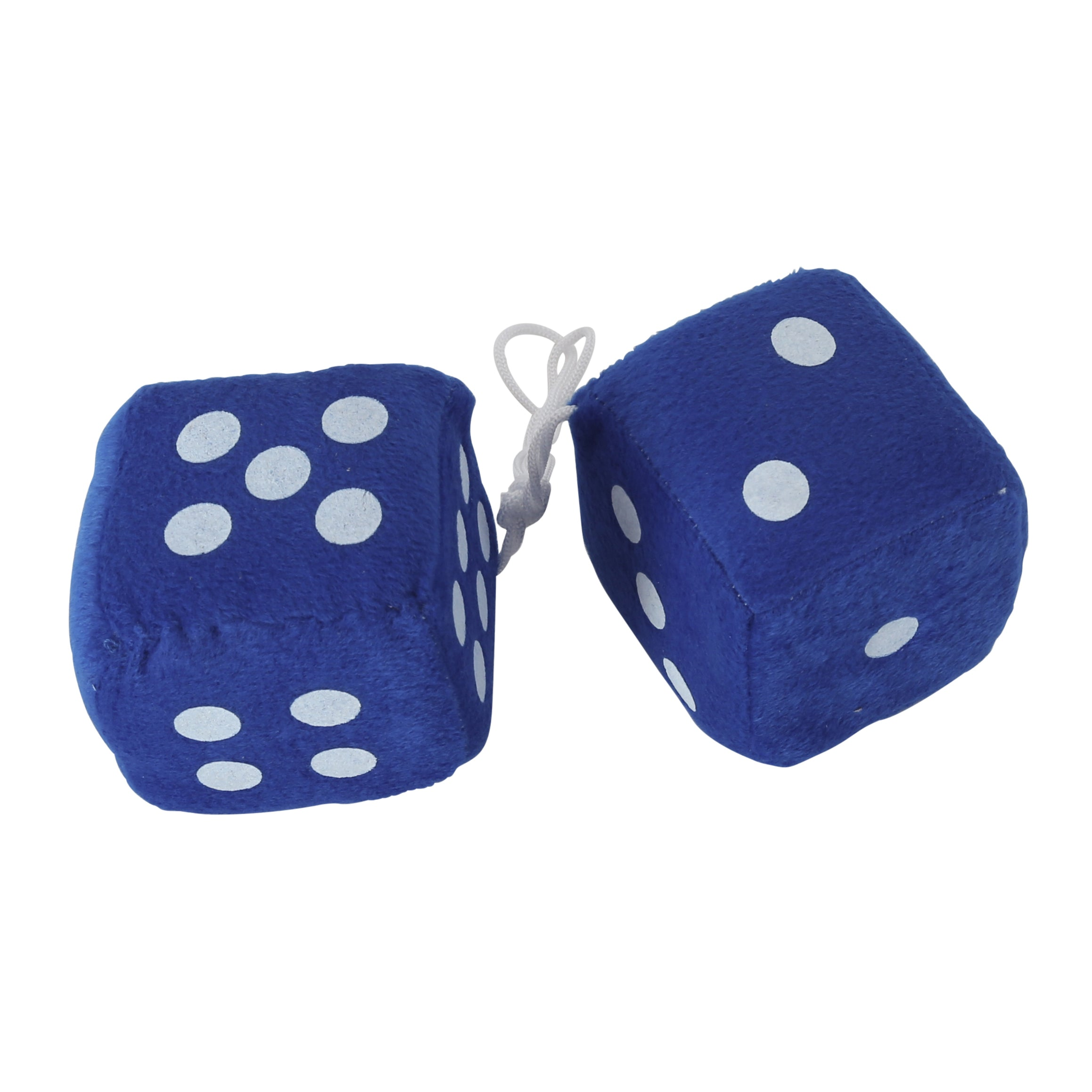 Fuzzy Dice (Blue) • 50's Style