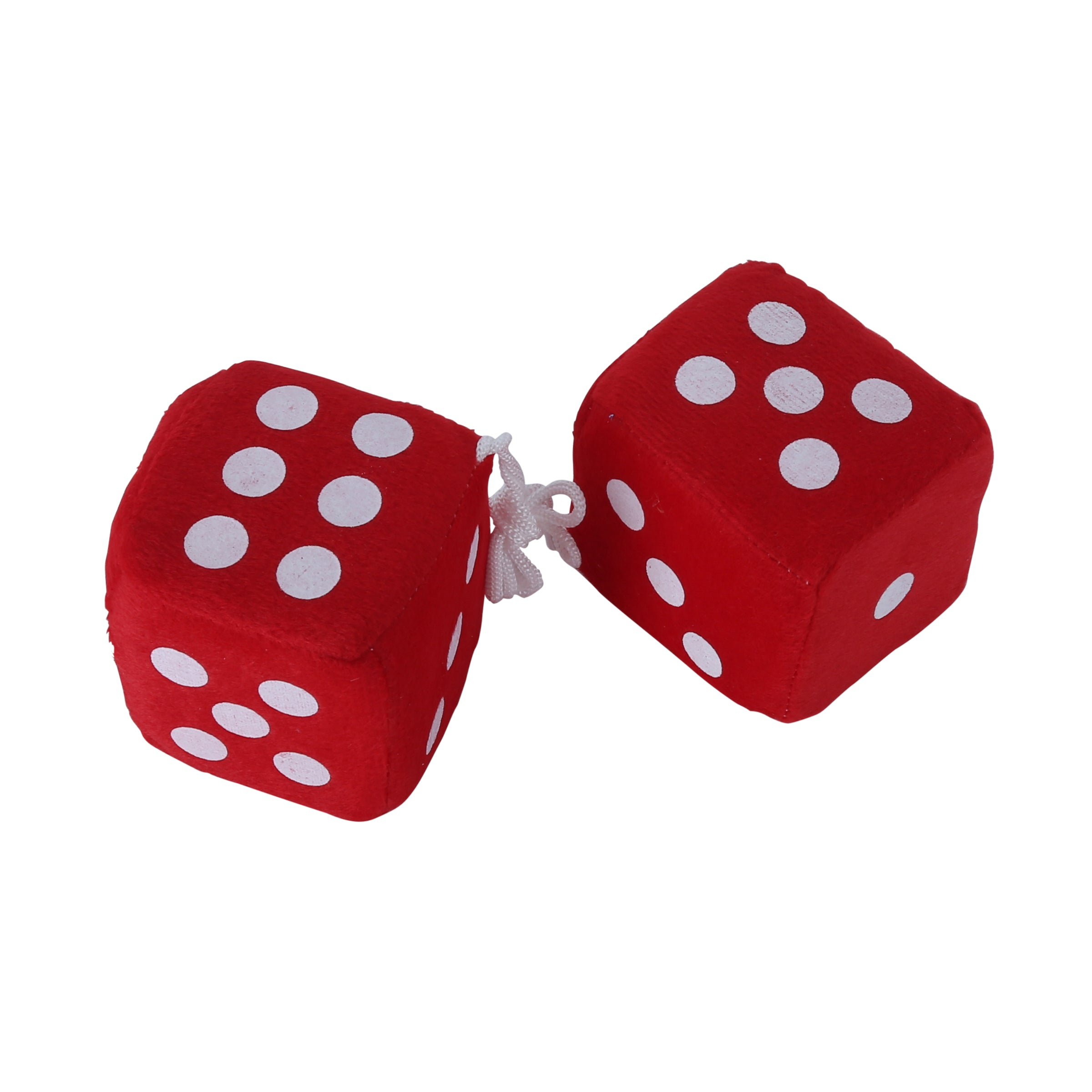 Fuzzy Dice (Red) • 50's Style