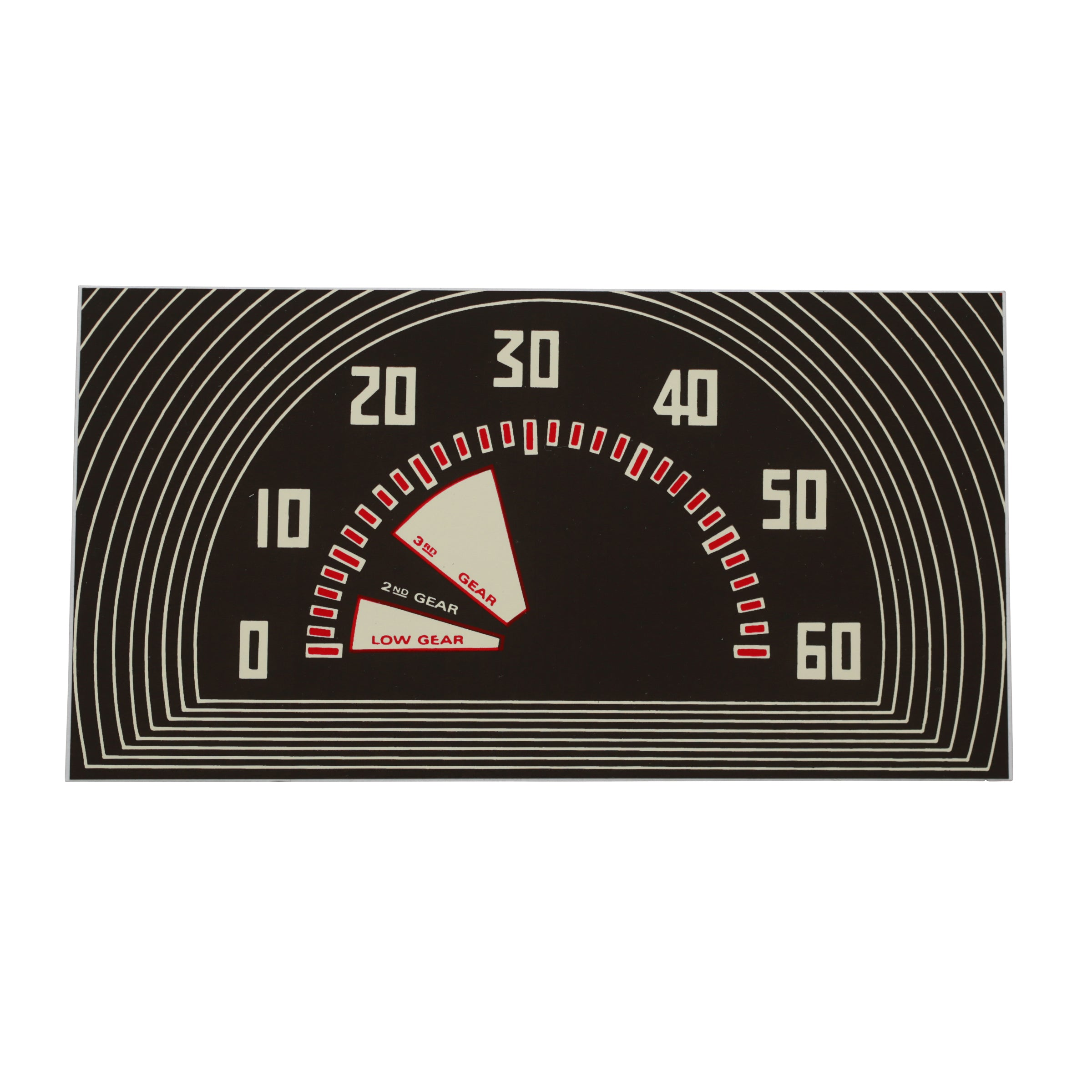 Speedometer Face Plate • 1942-47 Ford 1/2 Ton Truck