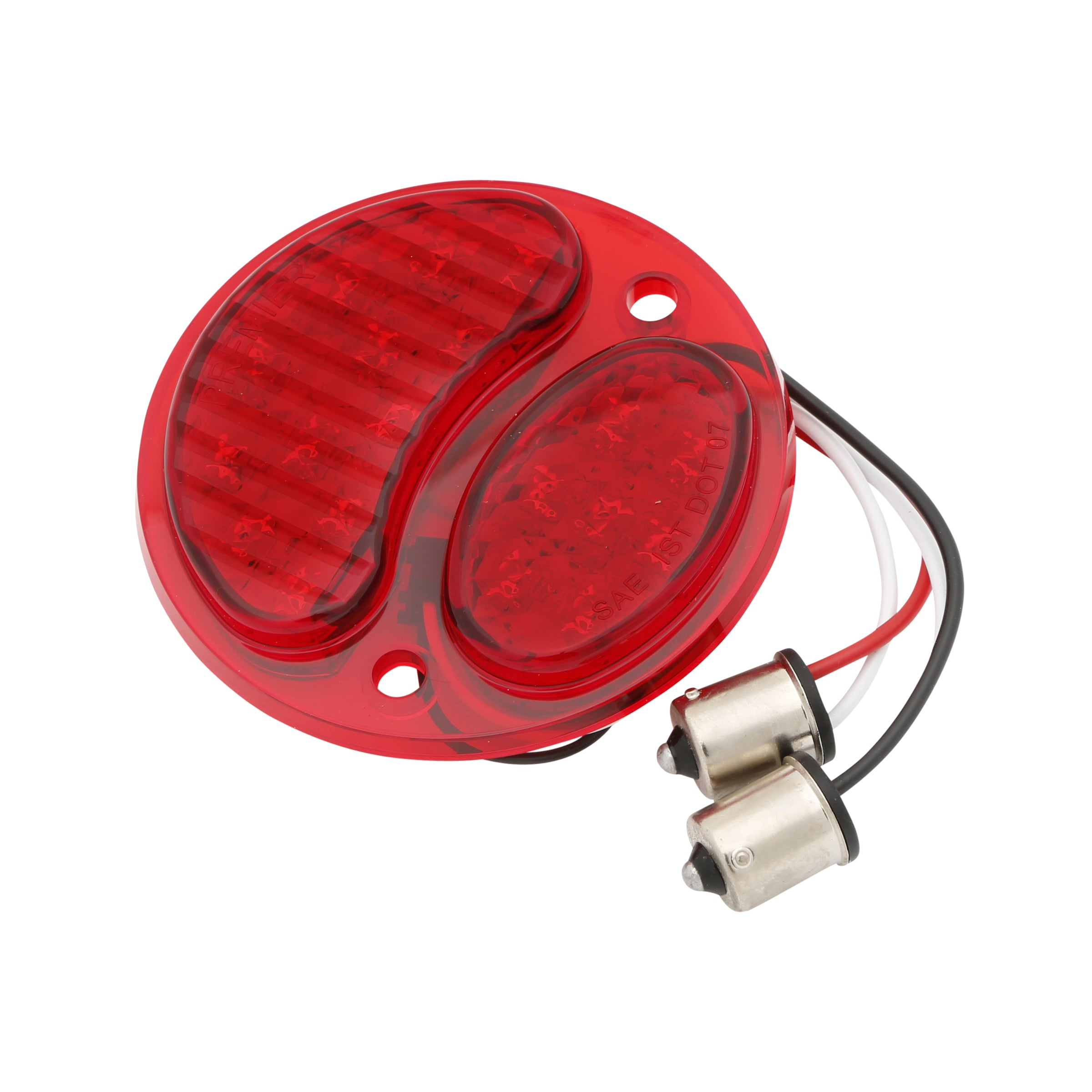 Taillight Lens Insert (LED 6 Volt All Red) • 1928-31 Model A Ford Right