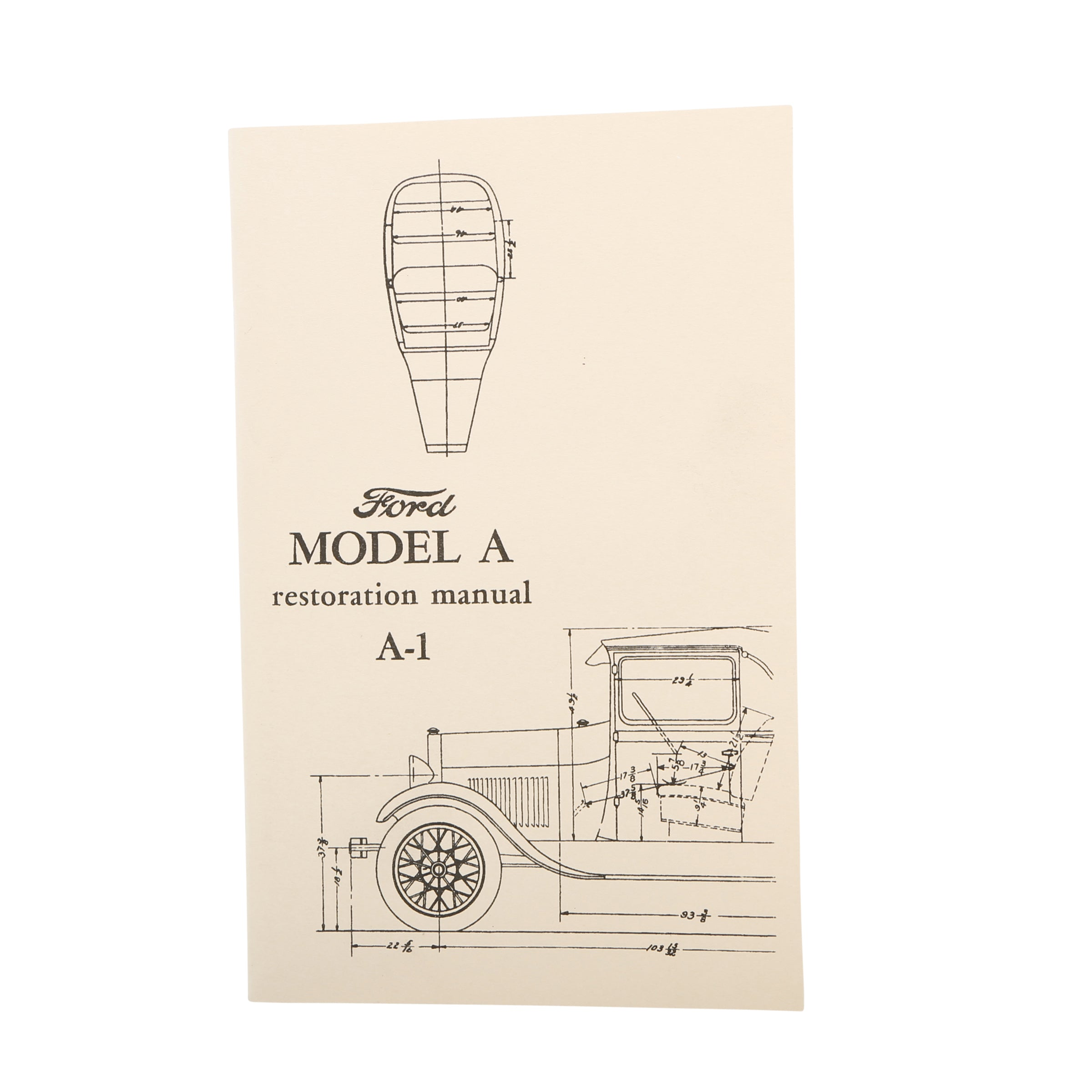 Model A Ford Restoration Manual