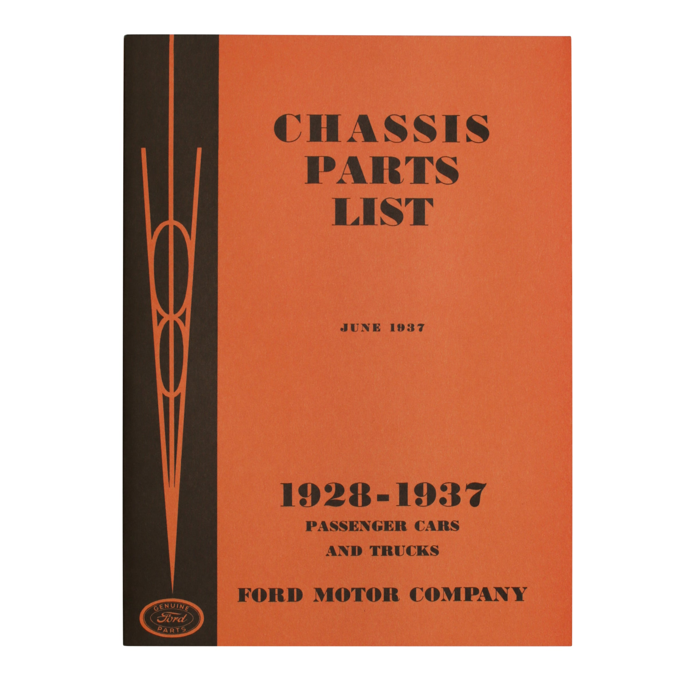 Ford Chassis Parts List • 1928-37 Ford